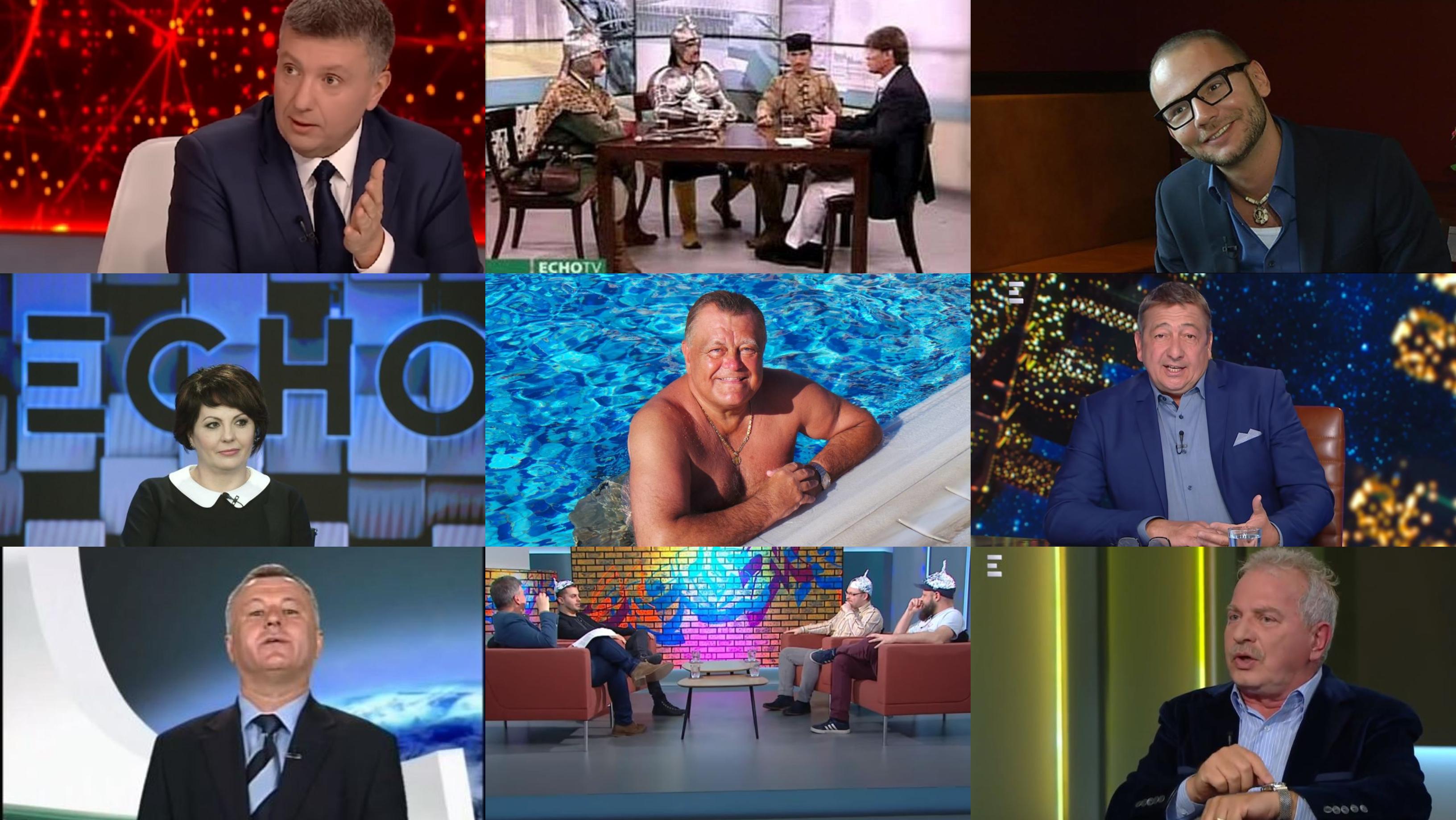 Az Echo TV legszebb pillanatai: űrlények, patkányozás és az Emberi Erőfosások Minisztériuma