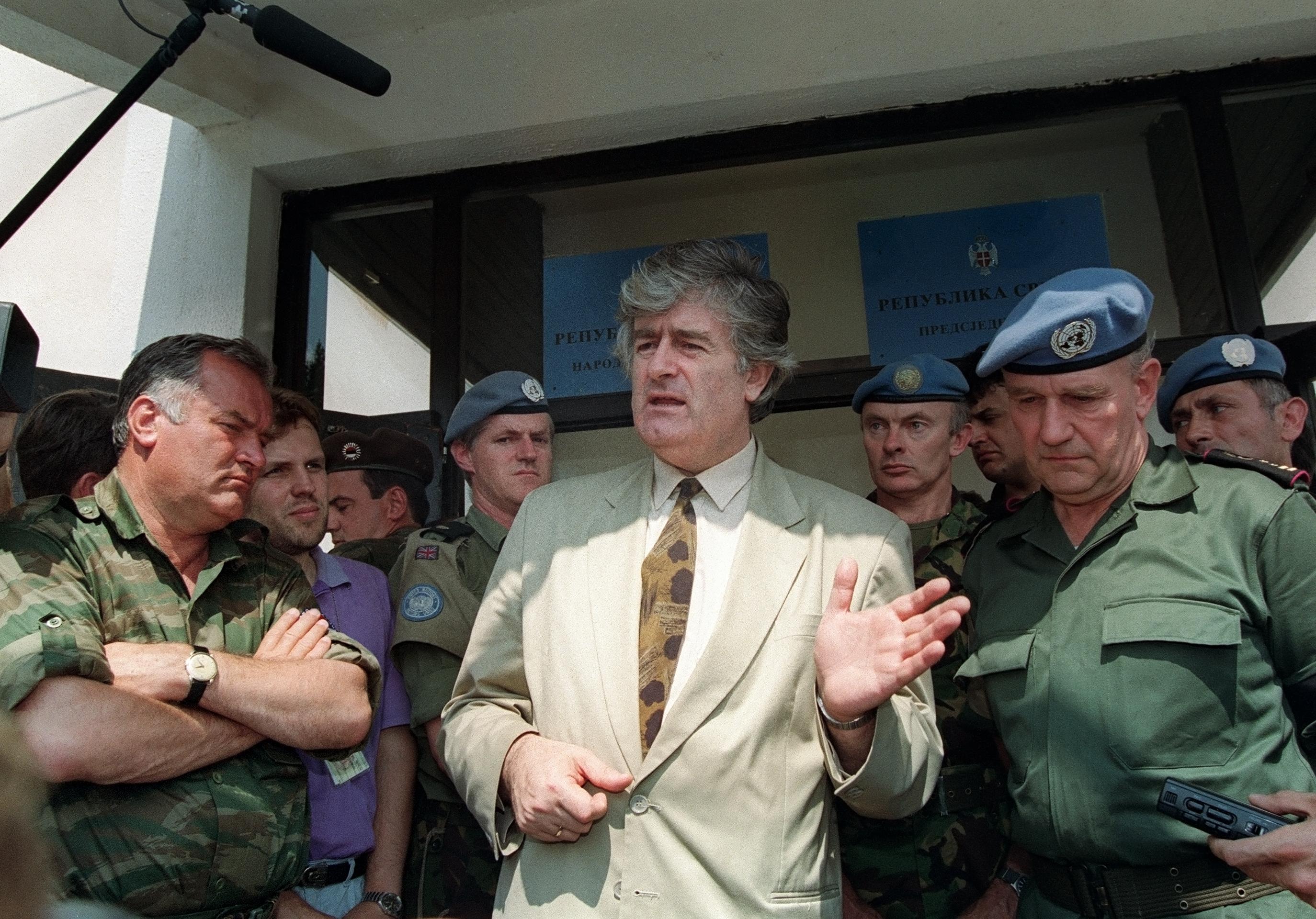 Radovan Karadzic életfogytiglani börtönt kapott Hágában