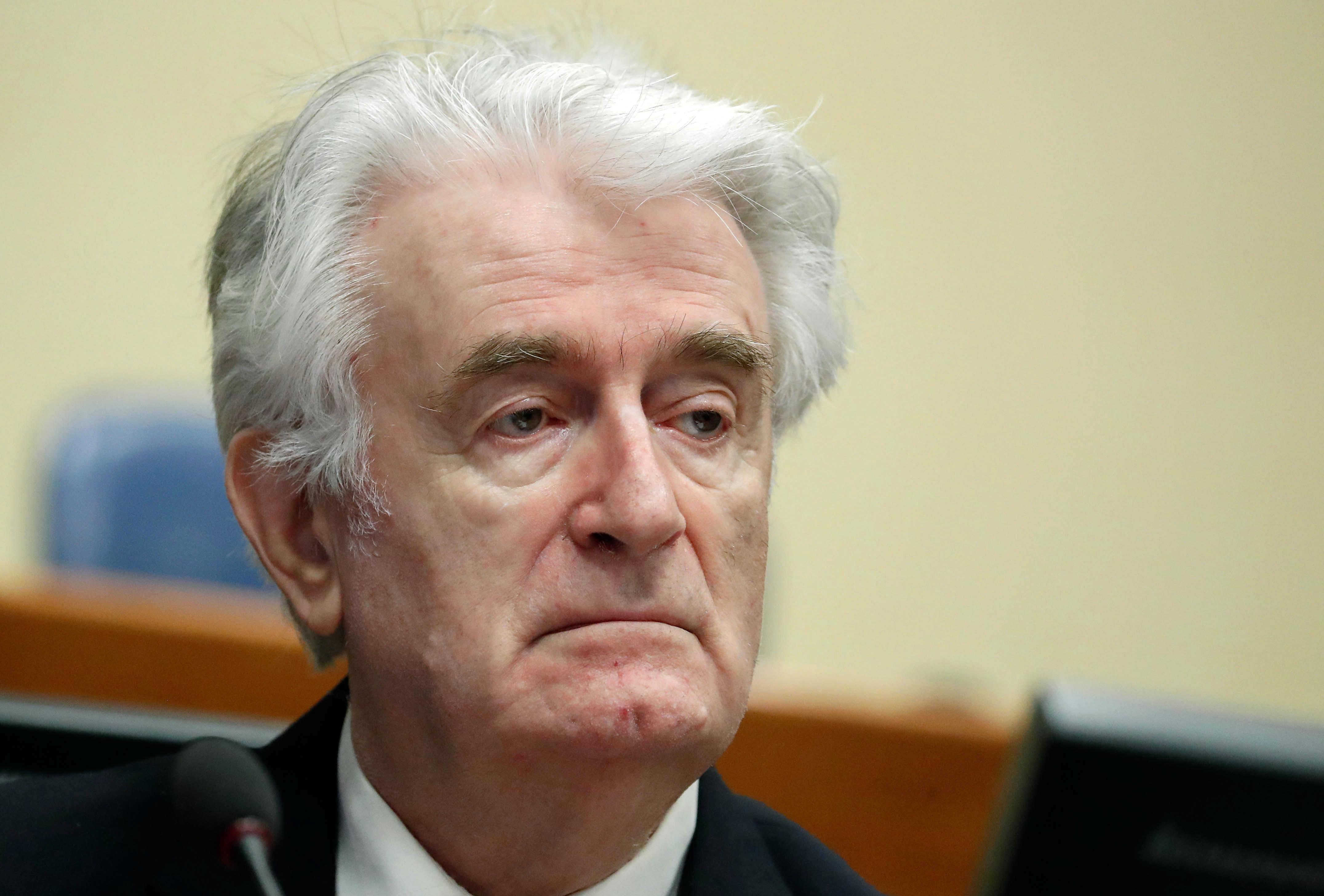 Kimondják a végső ítéletet a háborús bűnös Radovan Karadzicra