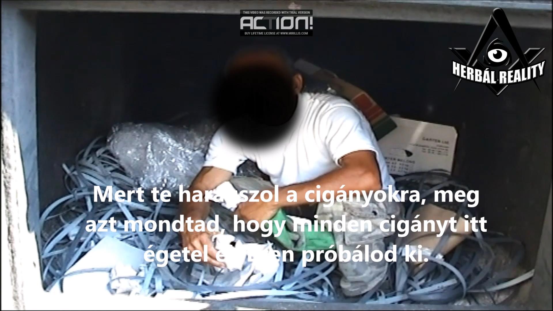 Előkerült egy videó, amin a fideszes Pócs János a kazánba zárja egy roma alkalmazottját