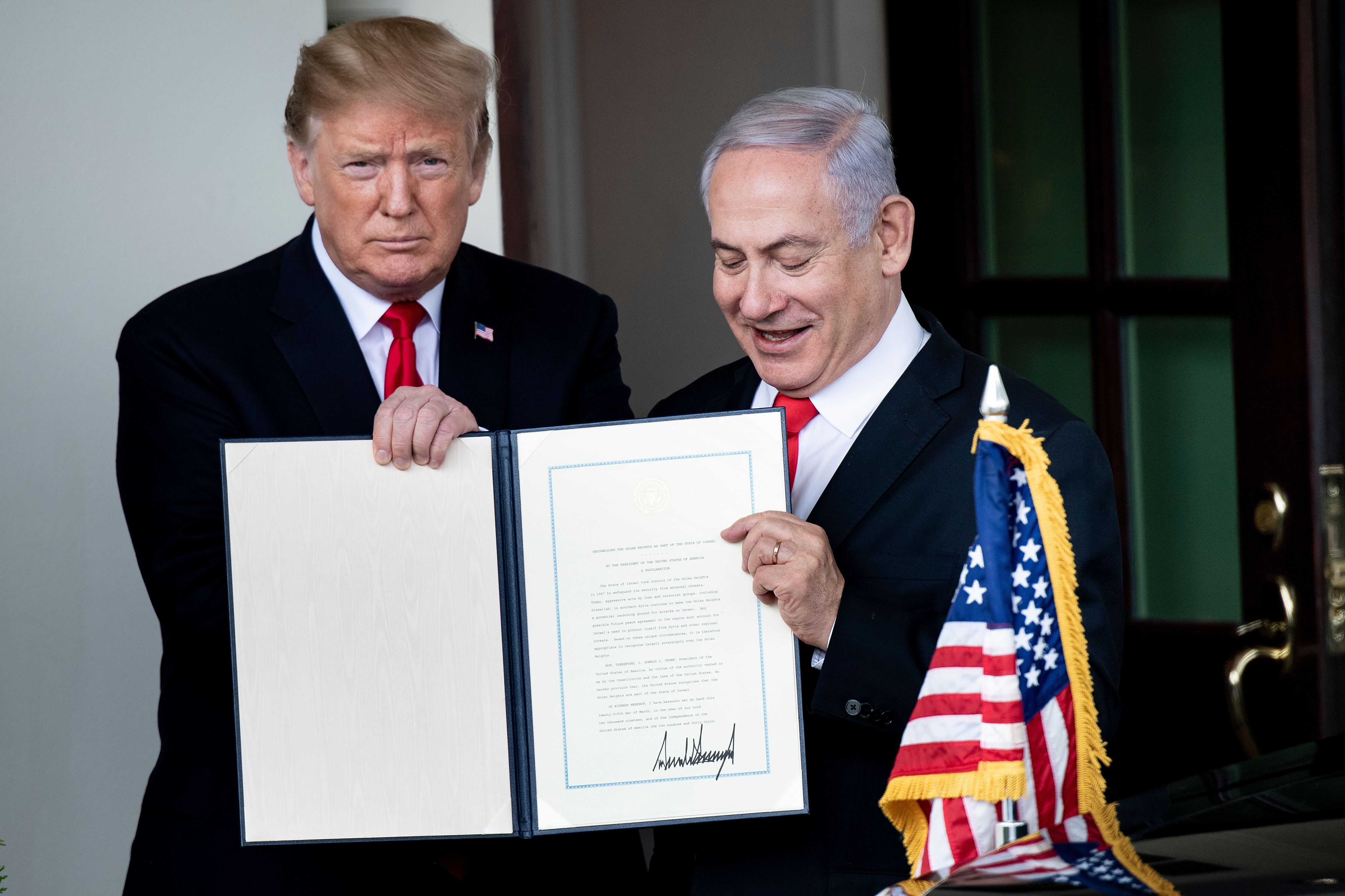Felháborodva fogadták muszlim országok, hogy Trump elismerte Izrael fennhatóságát a Golán-fennsíkon