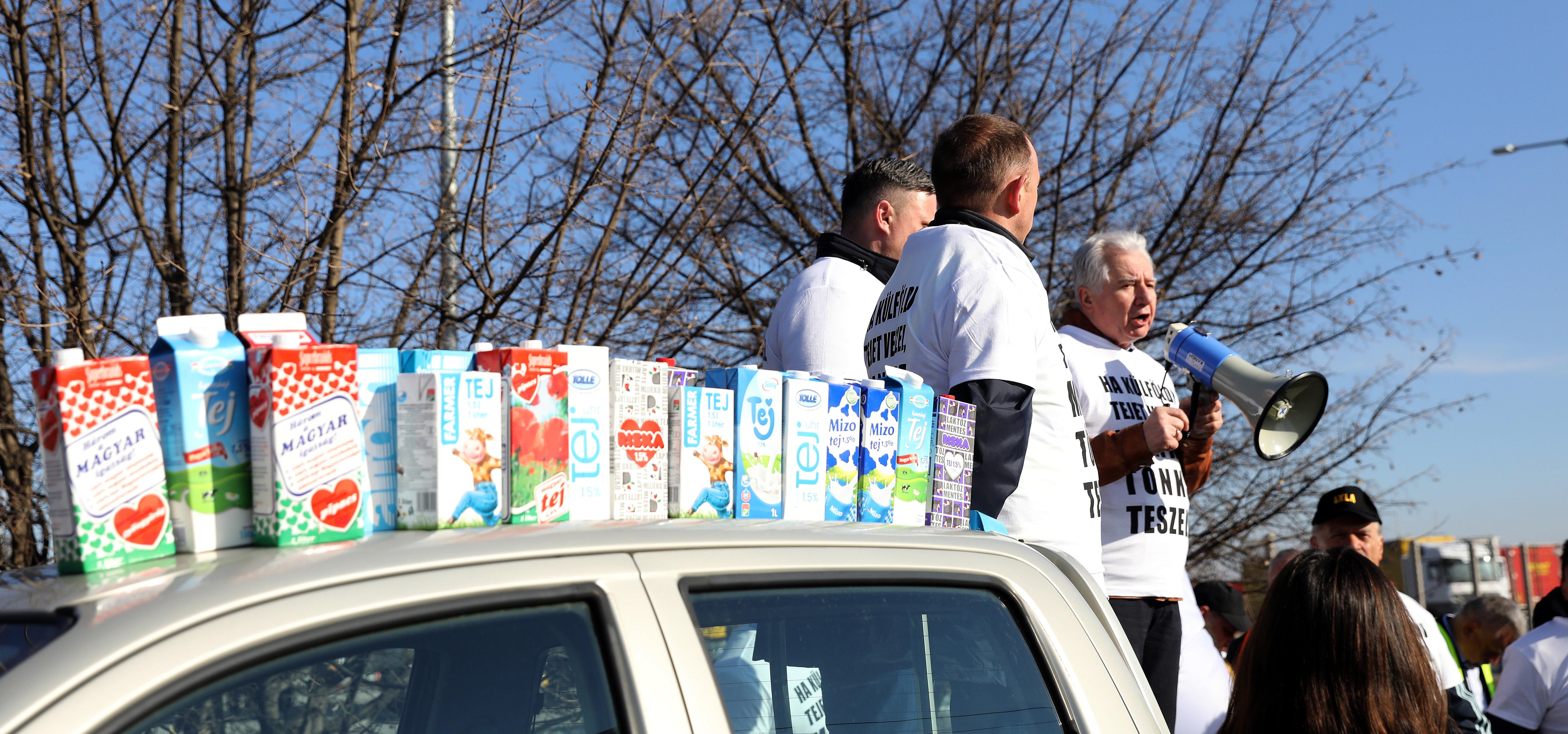 A Magosz tovább őrjöng azon, hogy egy bolt olcsón adta a tejet