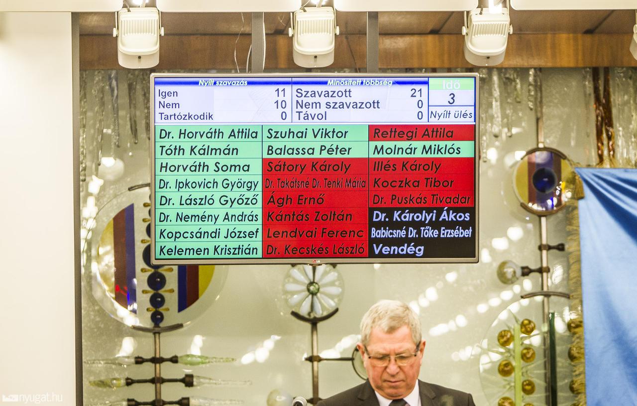 Nem tudta megakadályozni a Fidesz, hogy a letelepedési kötvényeseket vizsgáló bizottság alakuljon Szombathelyen