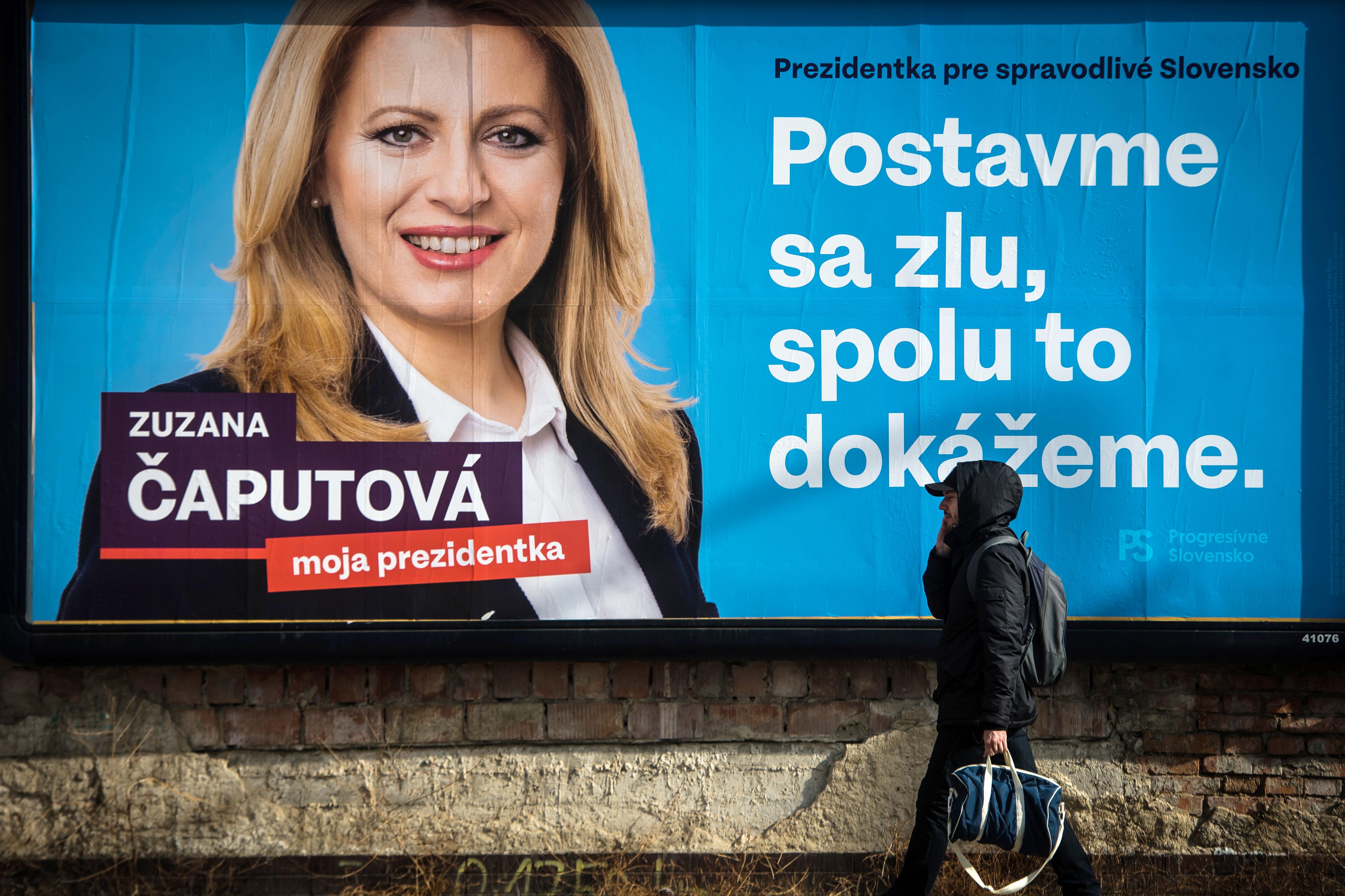 Szombaton elnökké választhatják a környezetvédelmi aktivistából lett politikust, Zuzana Čaputovát