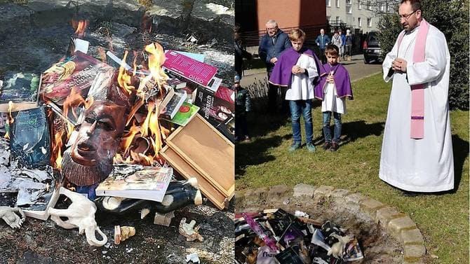 Bocsánatot kér a Harry Potter köteteket égető lengyel pap