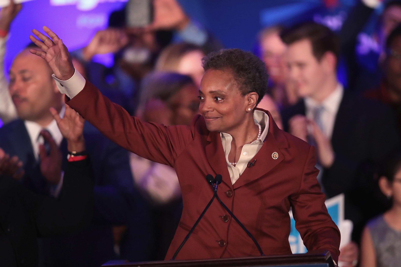 A történelemben először egy fekete nő lett Chicago polgármestere