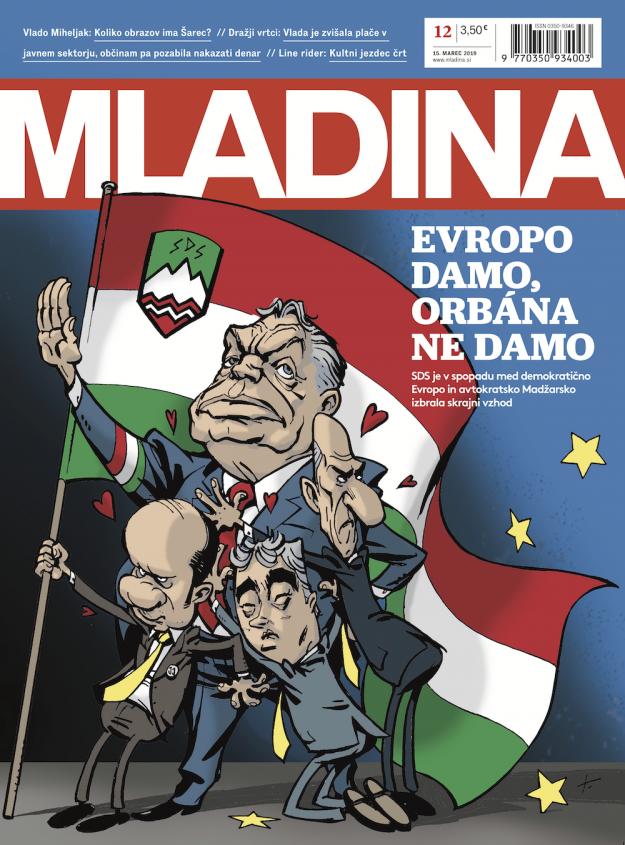A magyar kormány arra kéri Szlovéniát, akadályozzák meg, hogy Orbánról karikatúra jelenjen meg