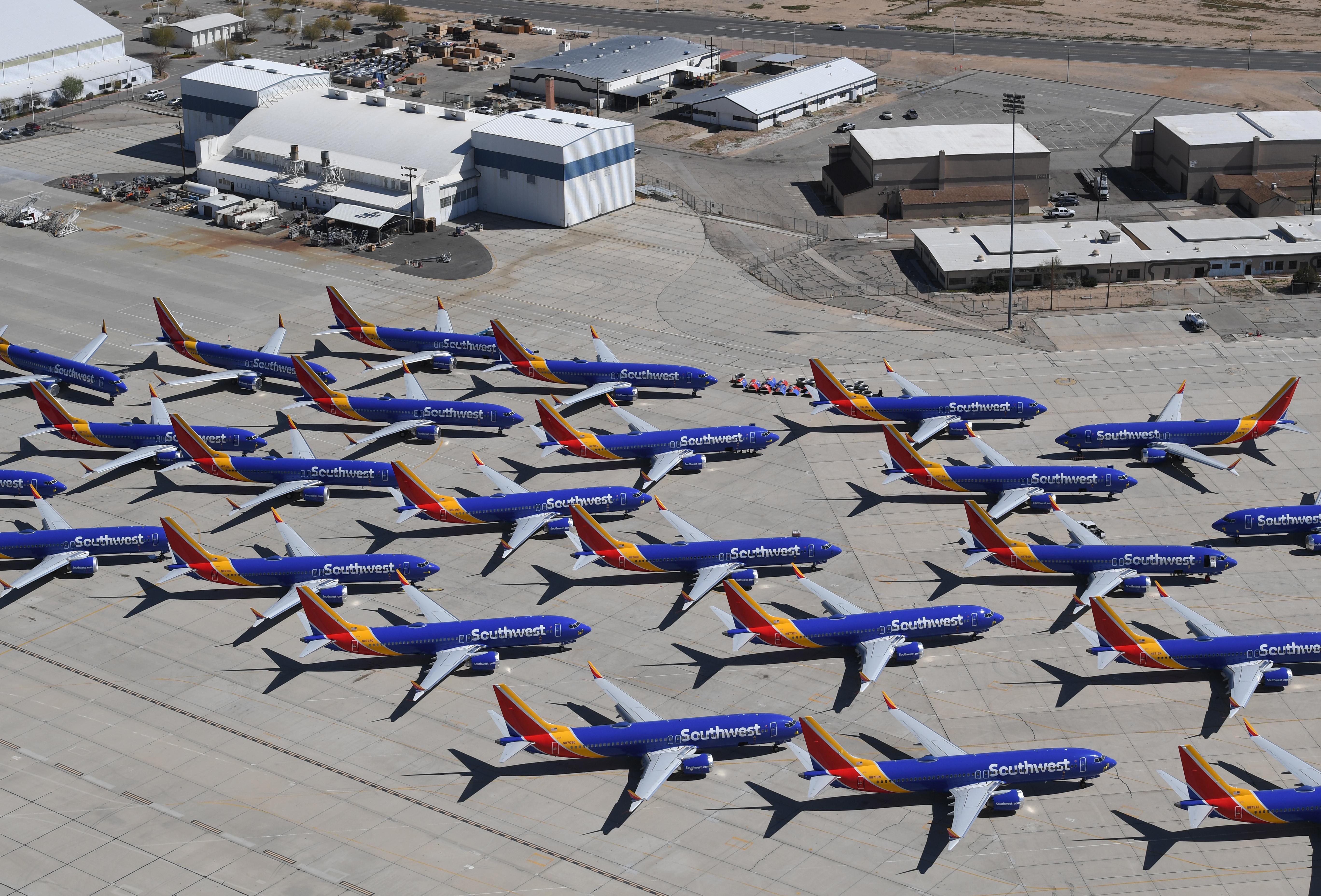 Több száz Boeing repülőgép rendelését mondták vissza