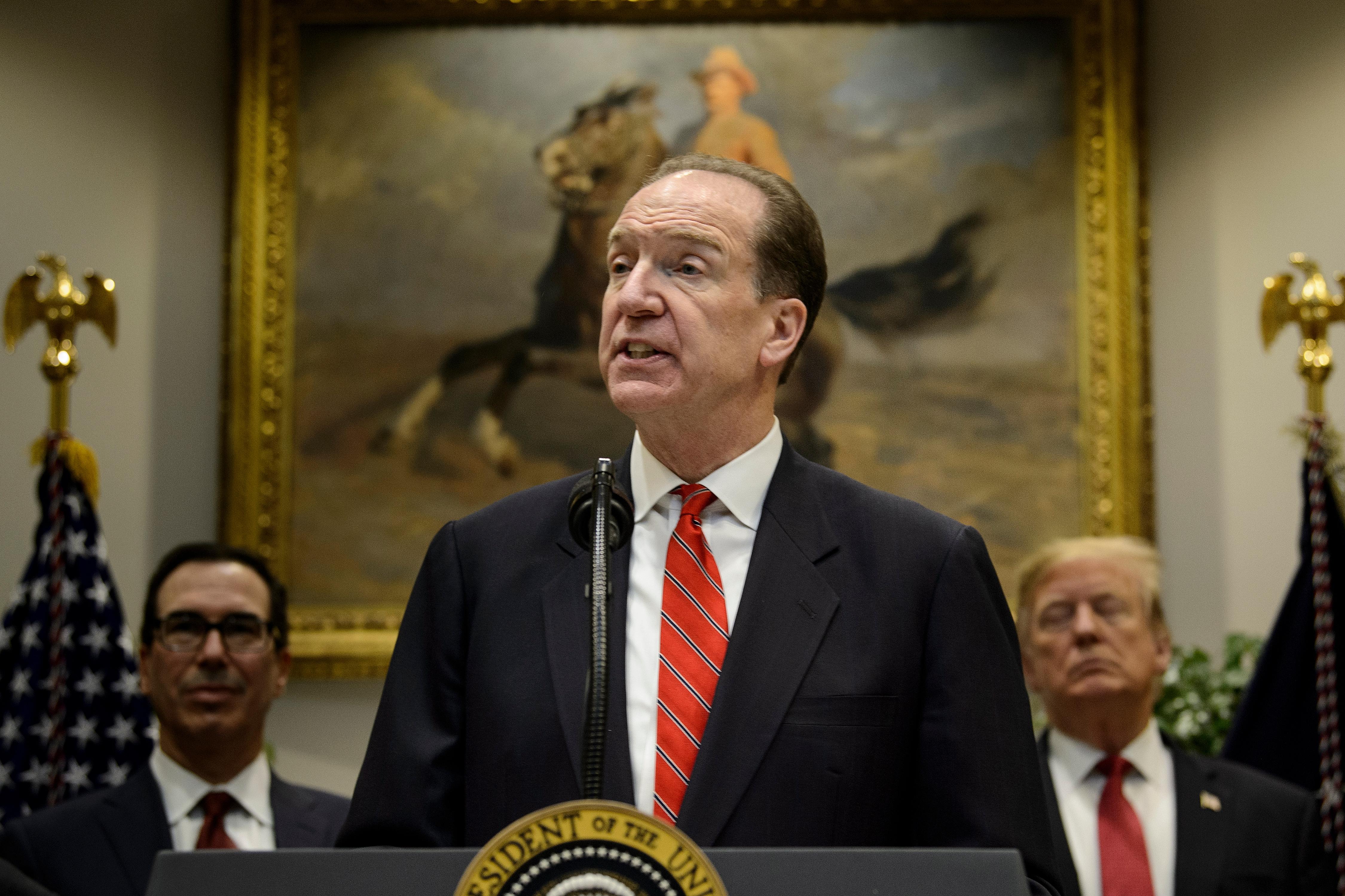 Trump emberét választották a Világbank elnökévé