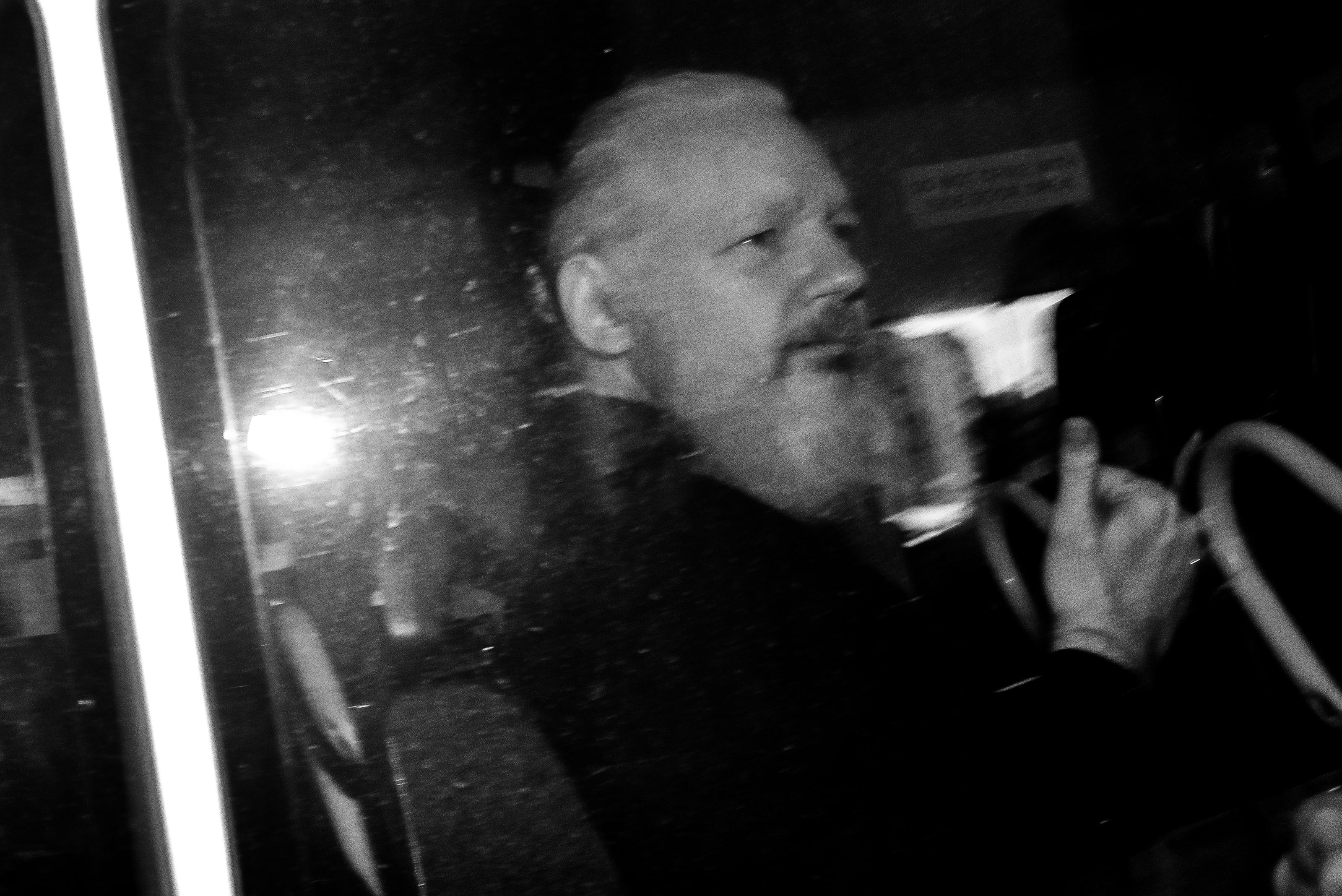 Két fia született Julian Assange-nak az ecuadori nagykövetségen töltött évek alatt