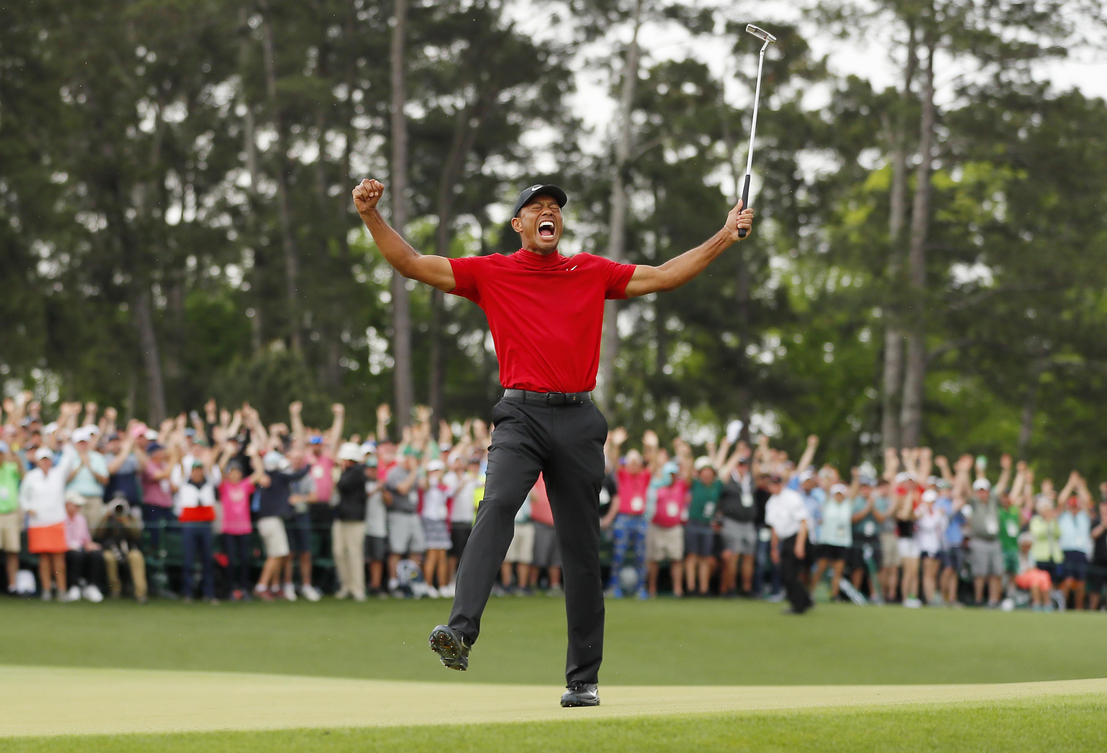 Minden idők fogadási győzelmét aratta a wisconsini bróker, aki az összes pénzét feltette Tiger Woodsra, és nyert