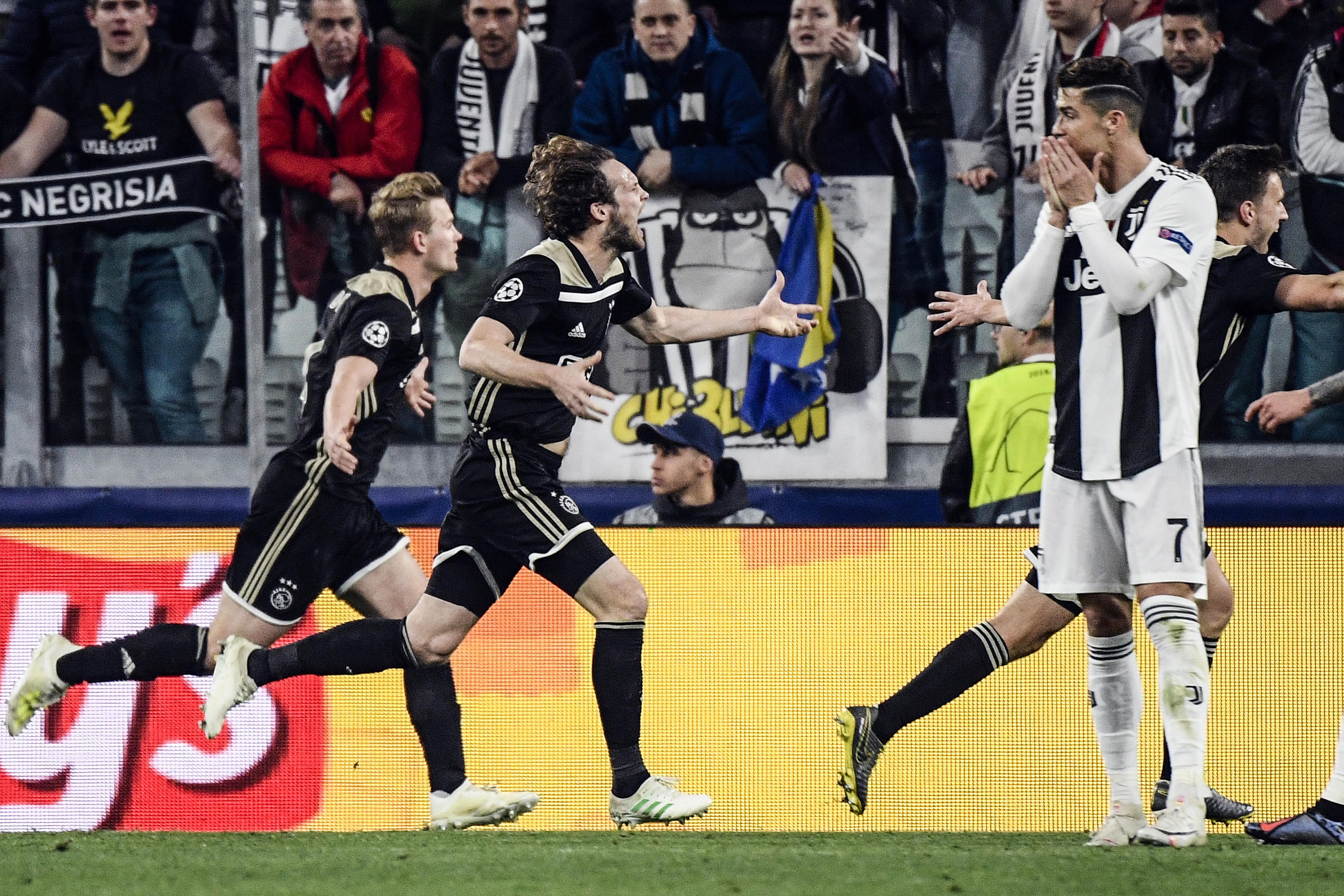 Kiejtette az Ajax a Juventust