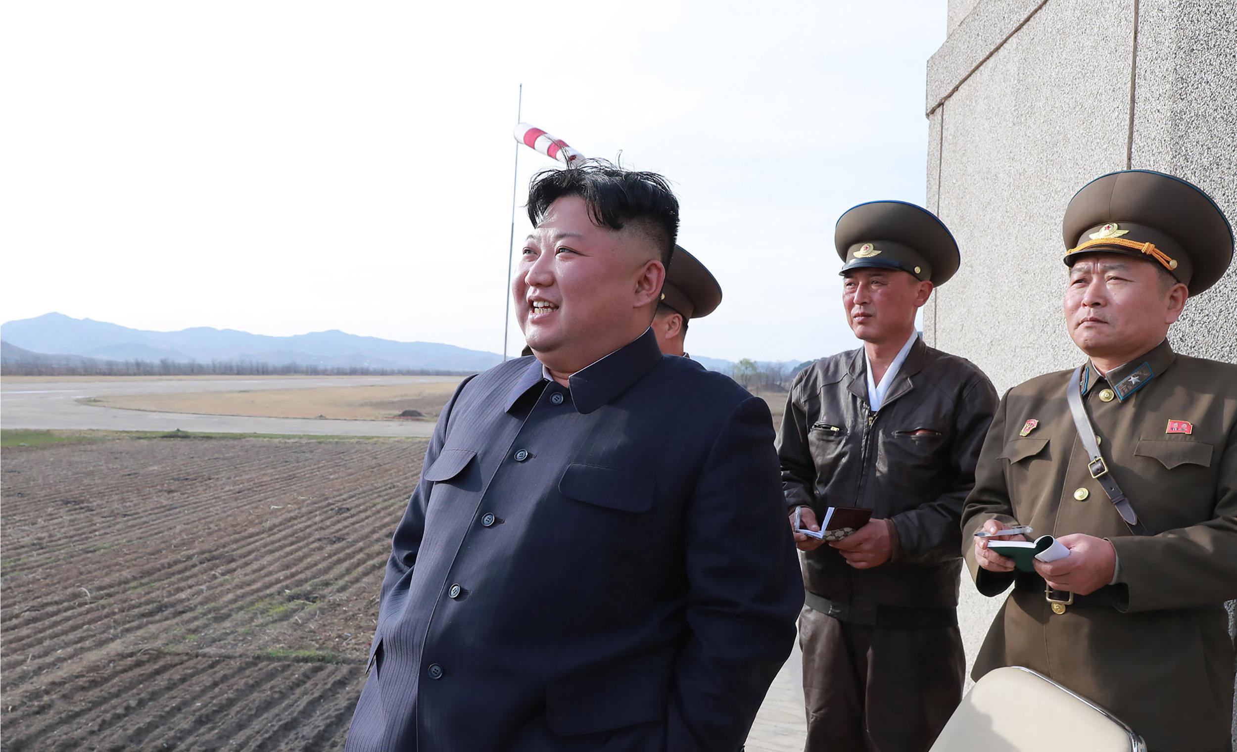 Észak-Korea szerint új típusú taktikai fegyvert teszteltek
