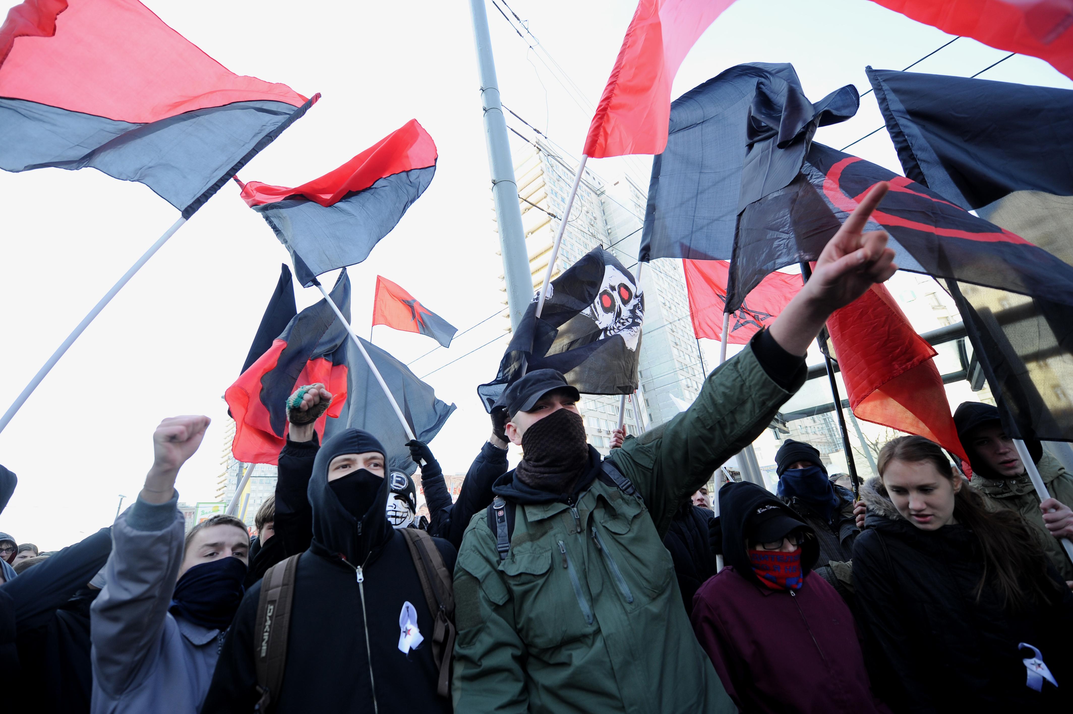Kőkemény hadjáratot indított az orosz anarchisták ellen az FSZB