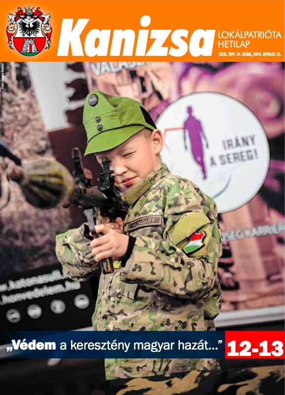 Gyerekkatonákat is csatasorba állít a nagy háborúban a nagykanizsai önkormányzati újság