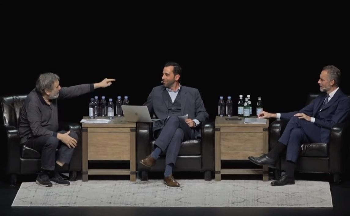 Jordan Peterson és Slavoj Žižek marxizmusról és boldogságról vitatkozott