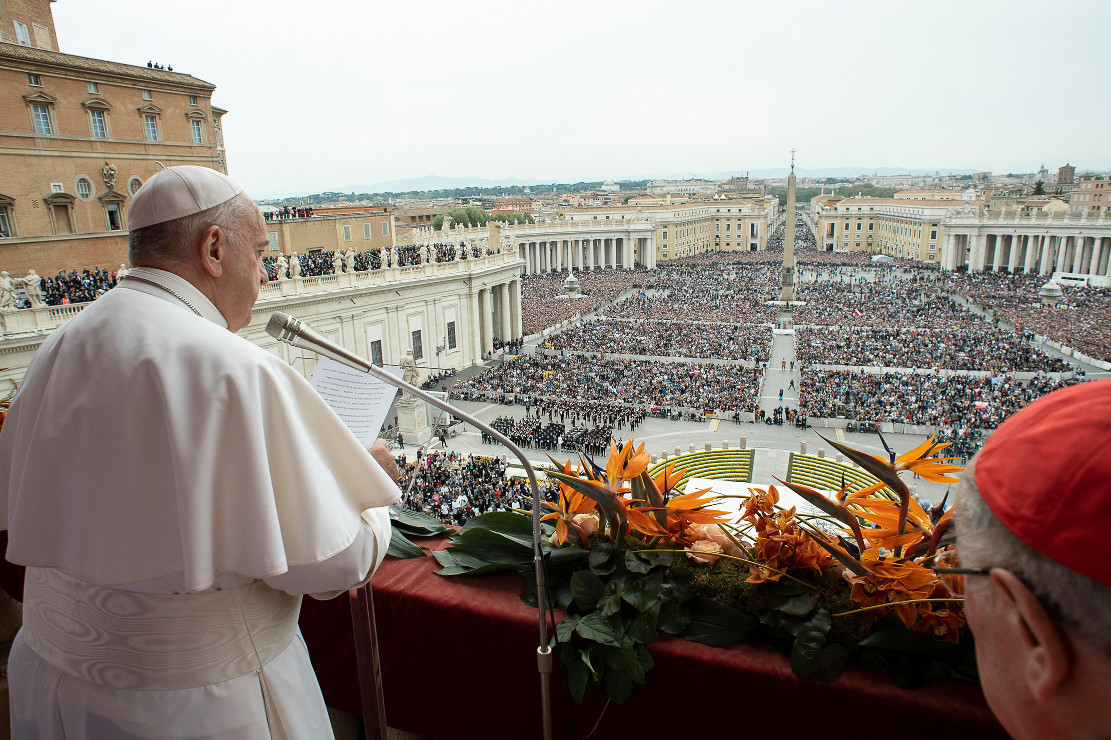 A pápa azt kéri, korunk sok szenvedésével szemben az emberiség ne maradjon rideg és közömbös