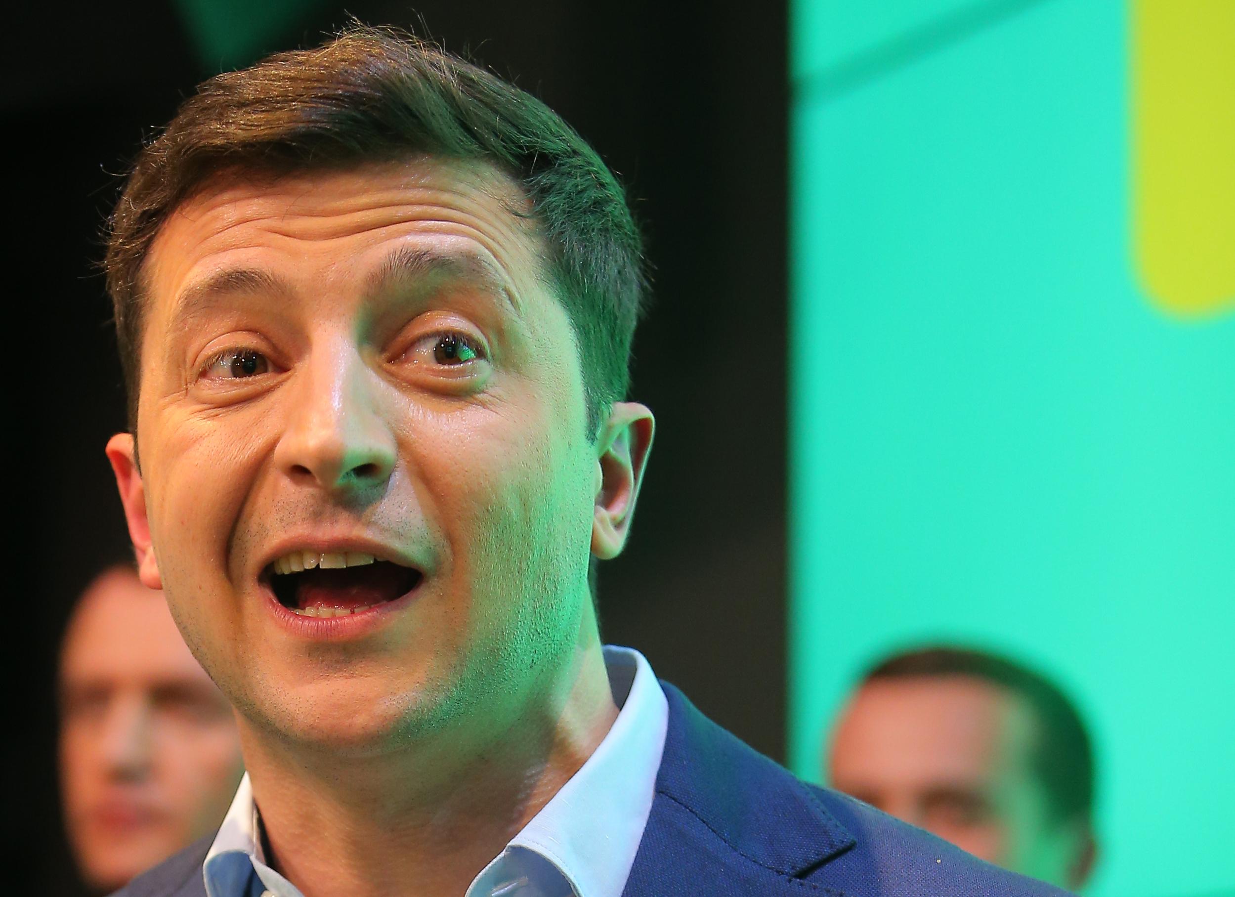 Az ukrán elnökválasztást megnyerő Zelenszkij máshogy állna a nyelvtörvényhez, mint az eddigi vezetés