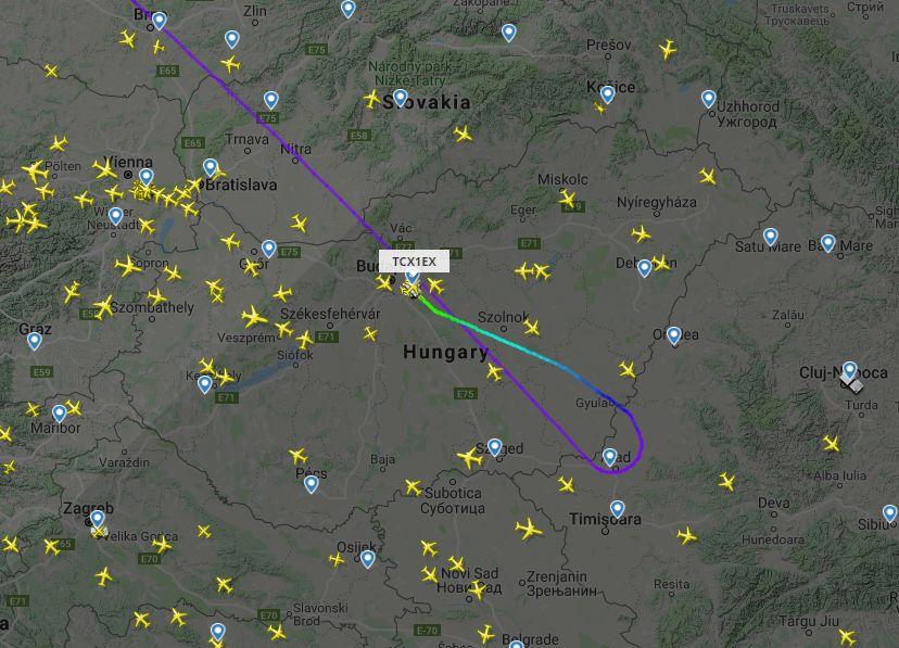 Cigiző utas miatt kellett visszafordulnia és leszállnia Budapesten egy Törökországba tartó gépnek