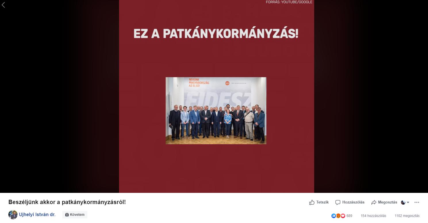 MSZP: Ha a Fidesz ezt követeli, akkor beszéljünk a patkánykormányzásról