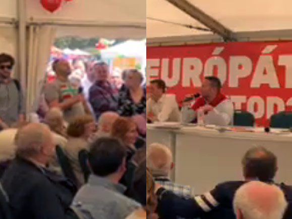 Fejrugdosásra volt válasz a bábuakasztás: Bede Zsolt–Ujhelyi István standoff az MSZP majálisán