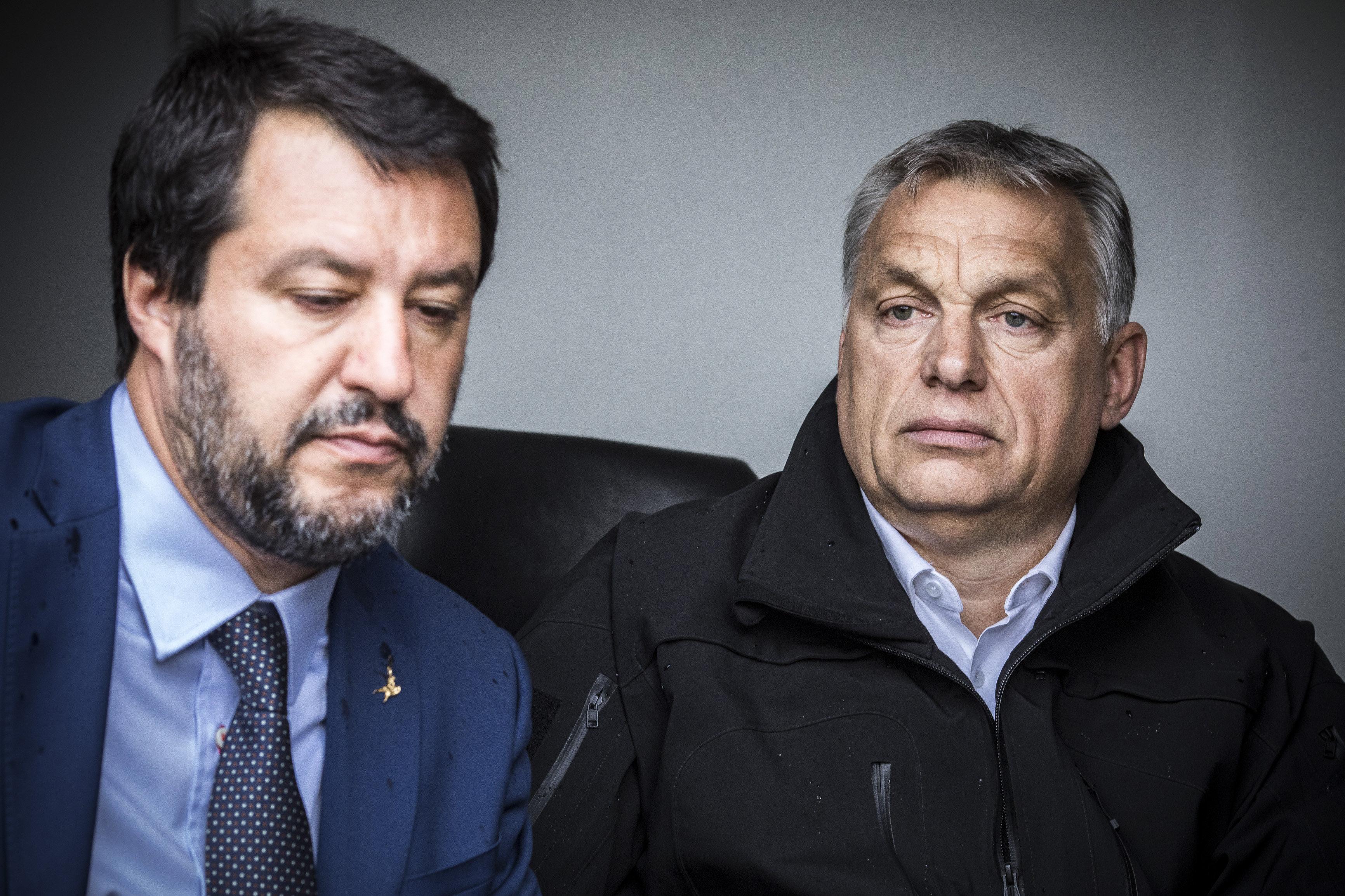 """Orbán levélben hálálkodott Salvininek azért, amit """"egész Európáért tett"""""""