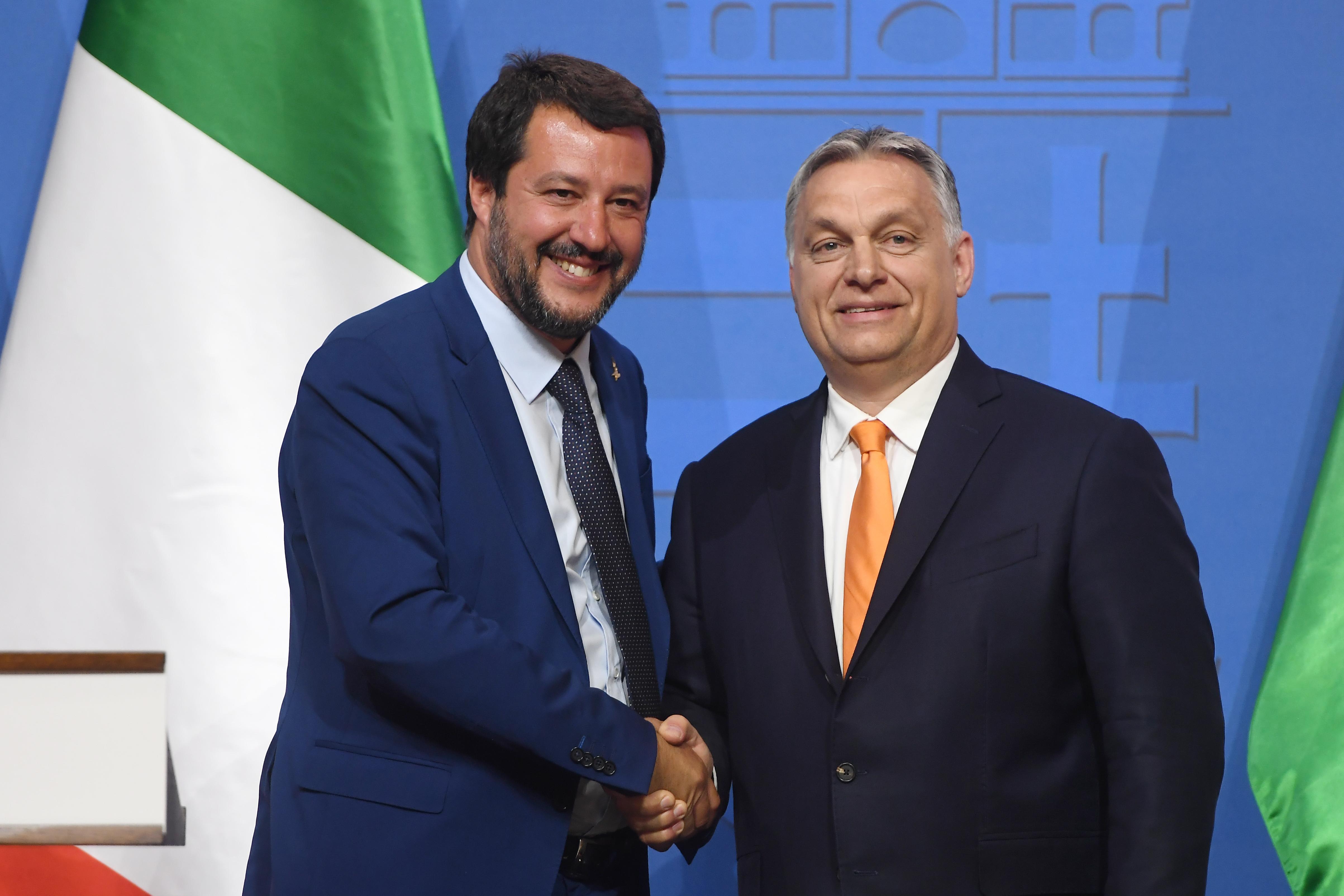 Orbán látványosan és nyíltan keresni fogja az együttműködést Salvini pártjával