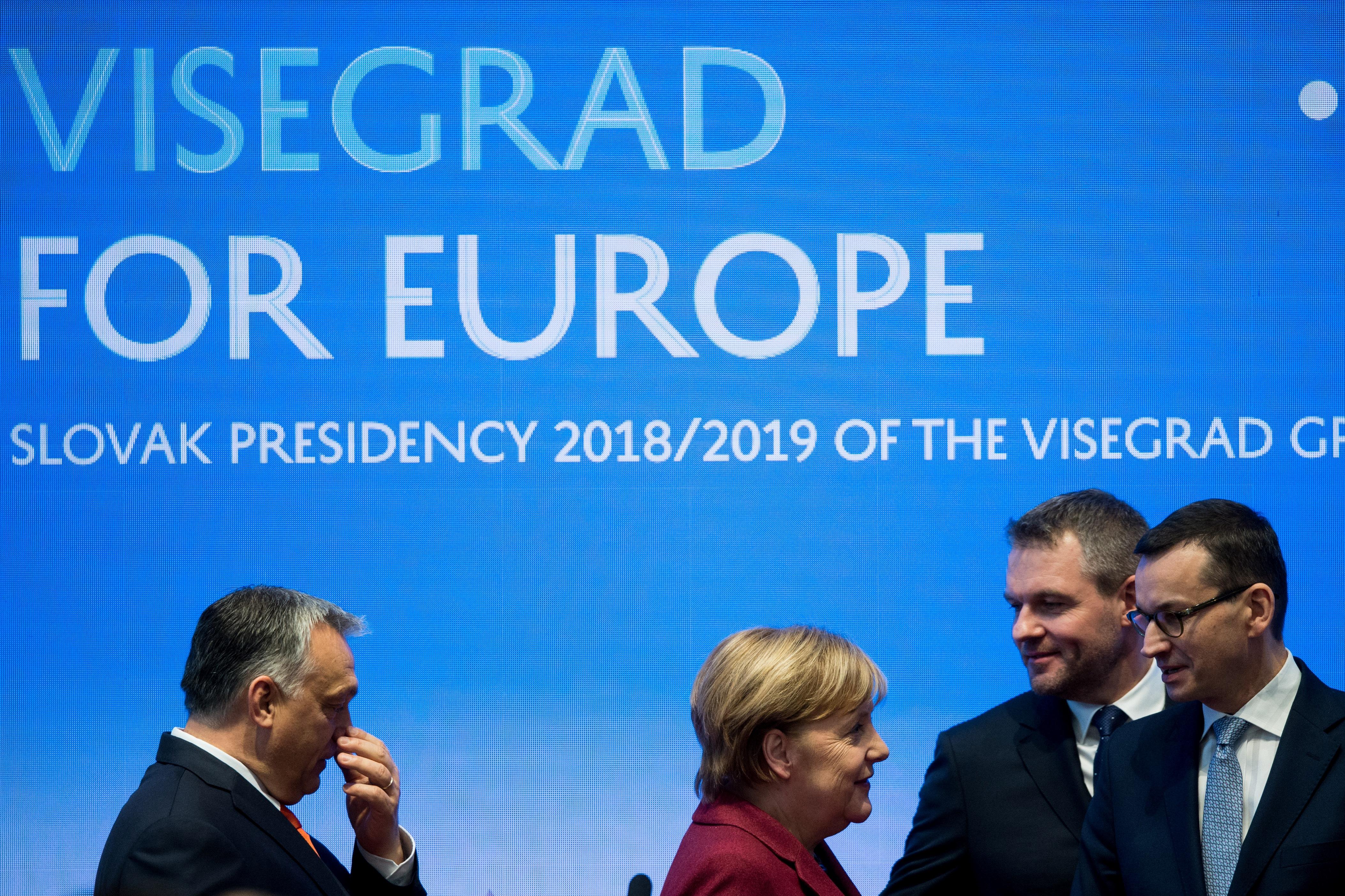 Merkel egyből elutasította Orbán ötletét, hogy fogjanak össze Salvini szélsőjobbos szövetségével
