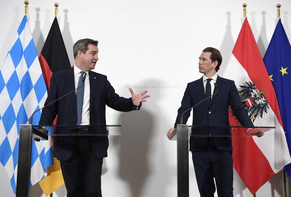 A bajor miniszterelnök és az osztrák kancellár együtt utasították el Orbán Viktor tervét