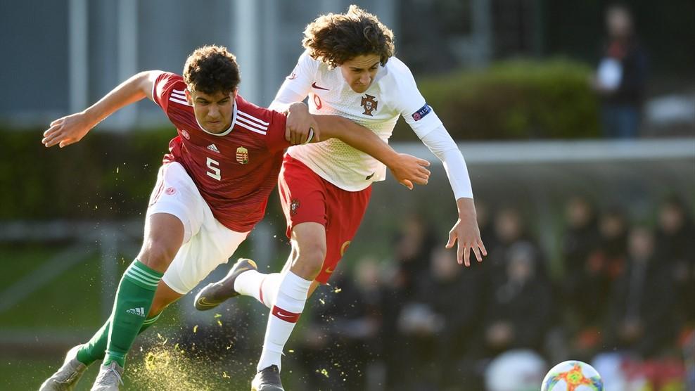 Bravúros győzelmet aratott a magyar válogatott az U17-es EB nyitómeccsén Portugália ellen