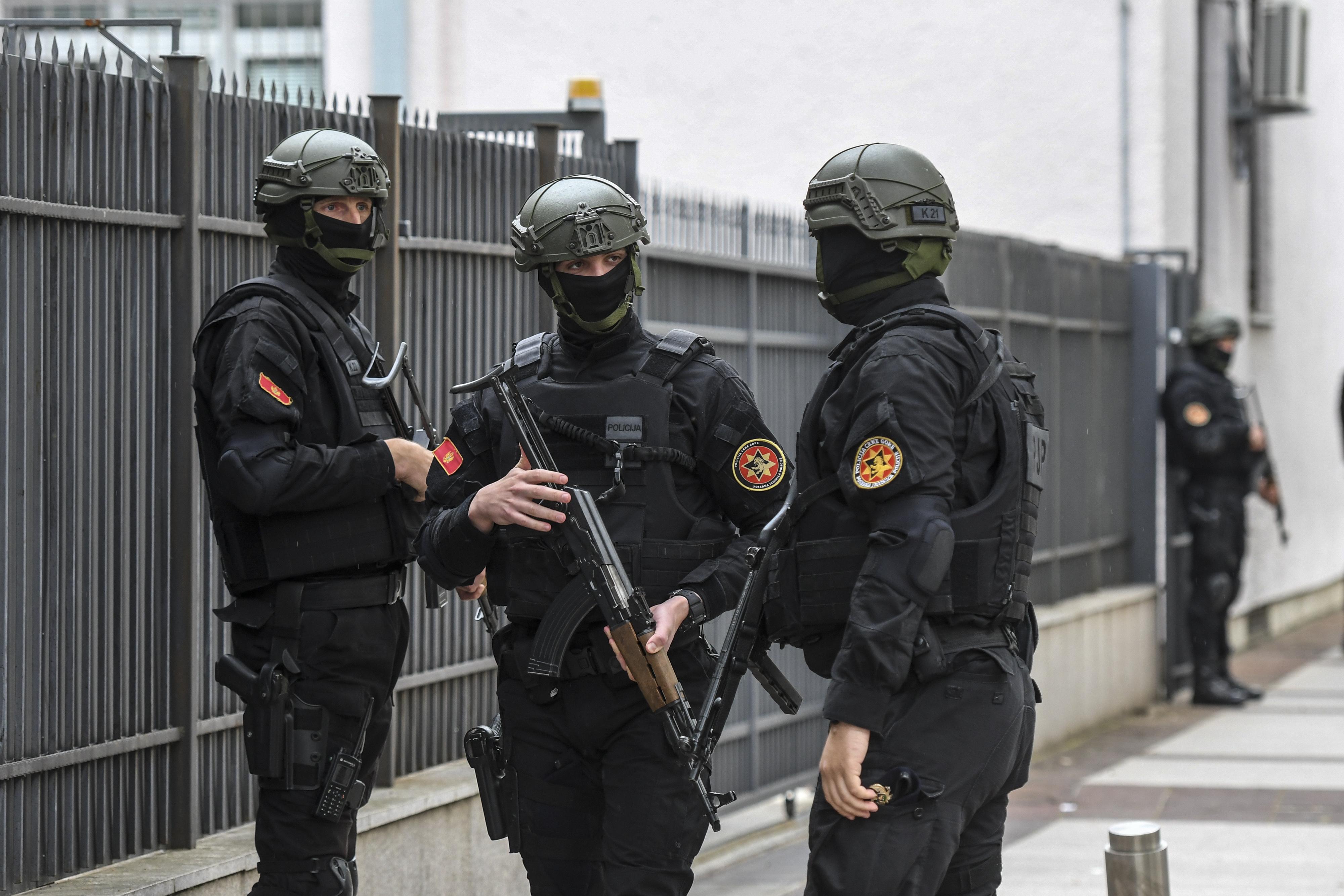 Öt év börtönre ítéltek két oroszpárti politikus Montenegróban