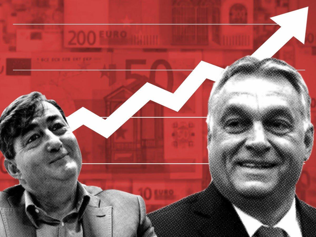 Így folyik tovább a közpénz Mészáros Lőrinctől az Orbán családhoz