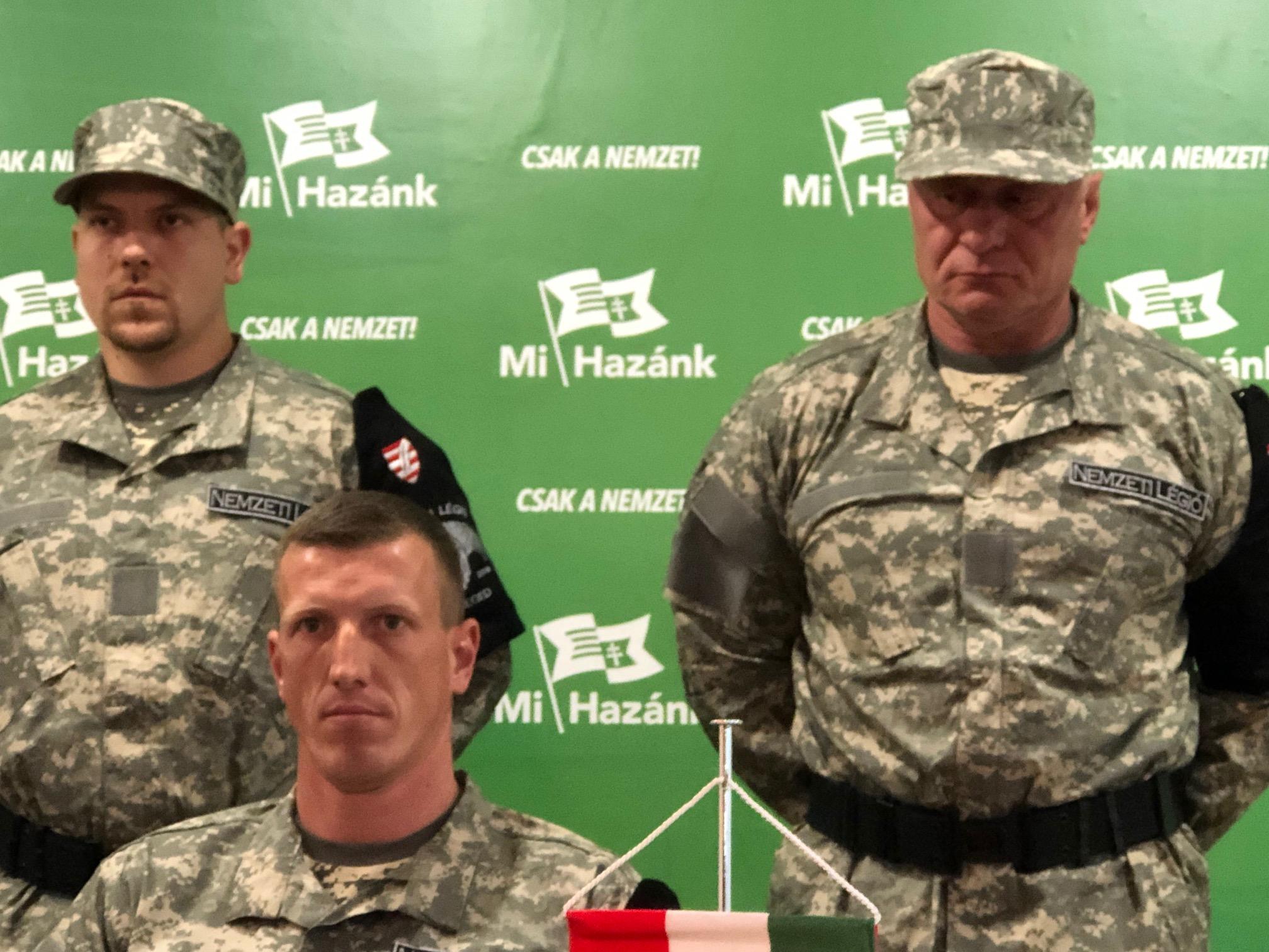A francia idegenlégióban szolgált a Legújabb Magyar Gárda, vagyis a Nemzeti Légió új vezetője