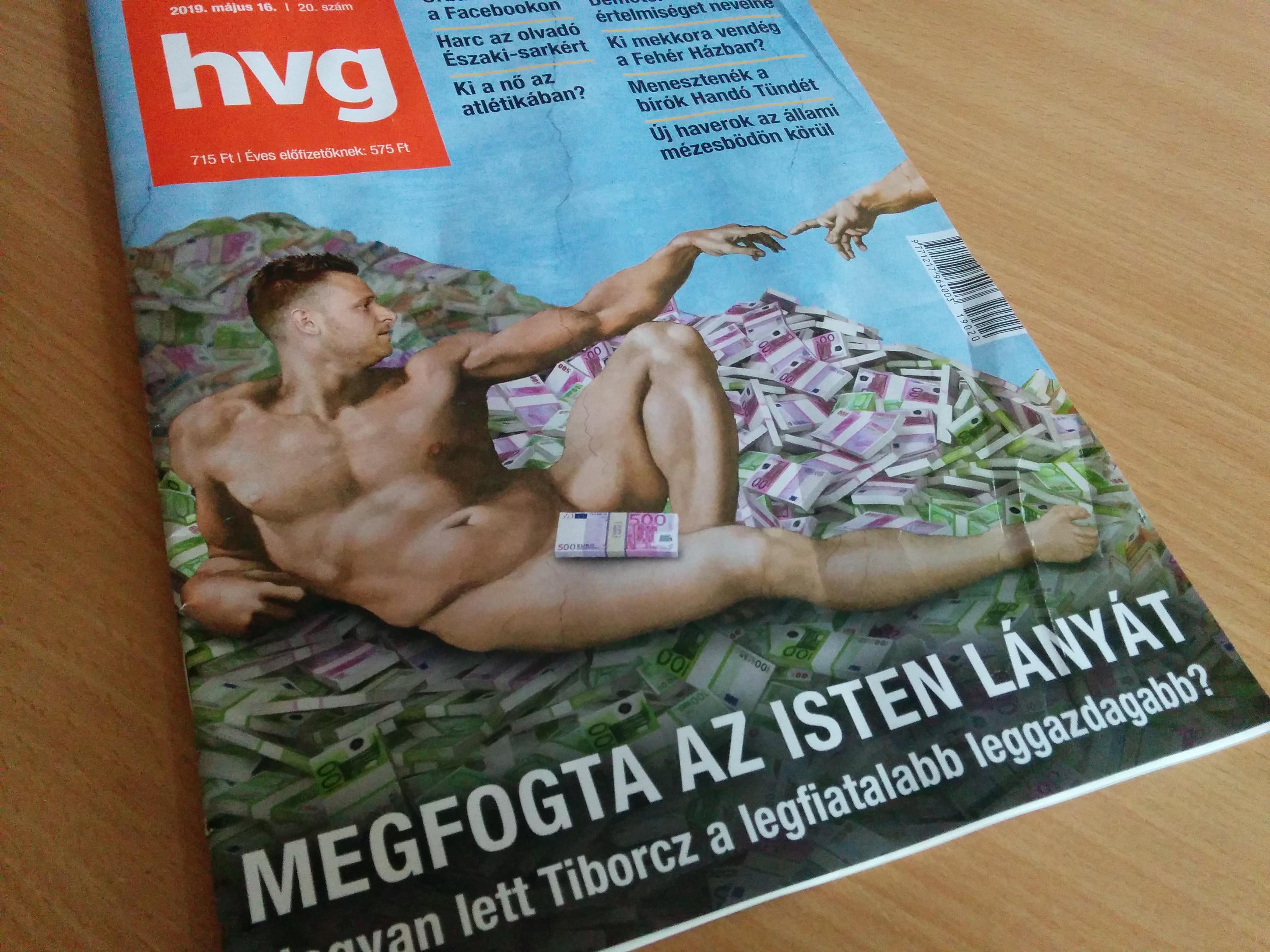 Ez a Tiborcz-címlap már nem kerül ki az utcára