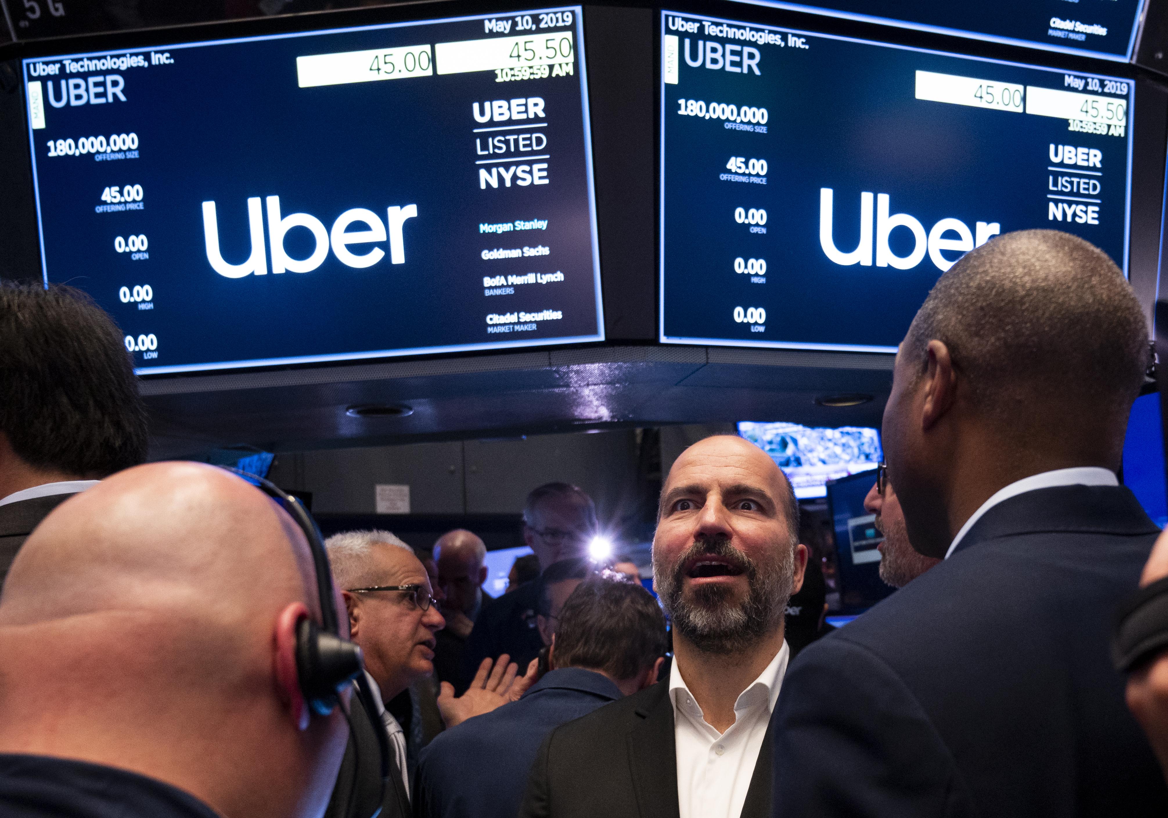 A Wall Street nagybankjai fújhatták fel irreálisra az Uber értékét, ezért lett komoly kudarc a tőzsdei bevezetés