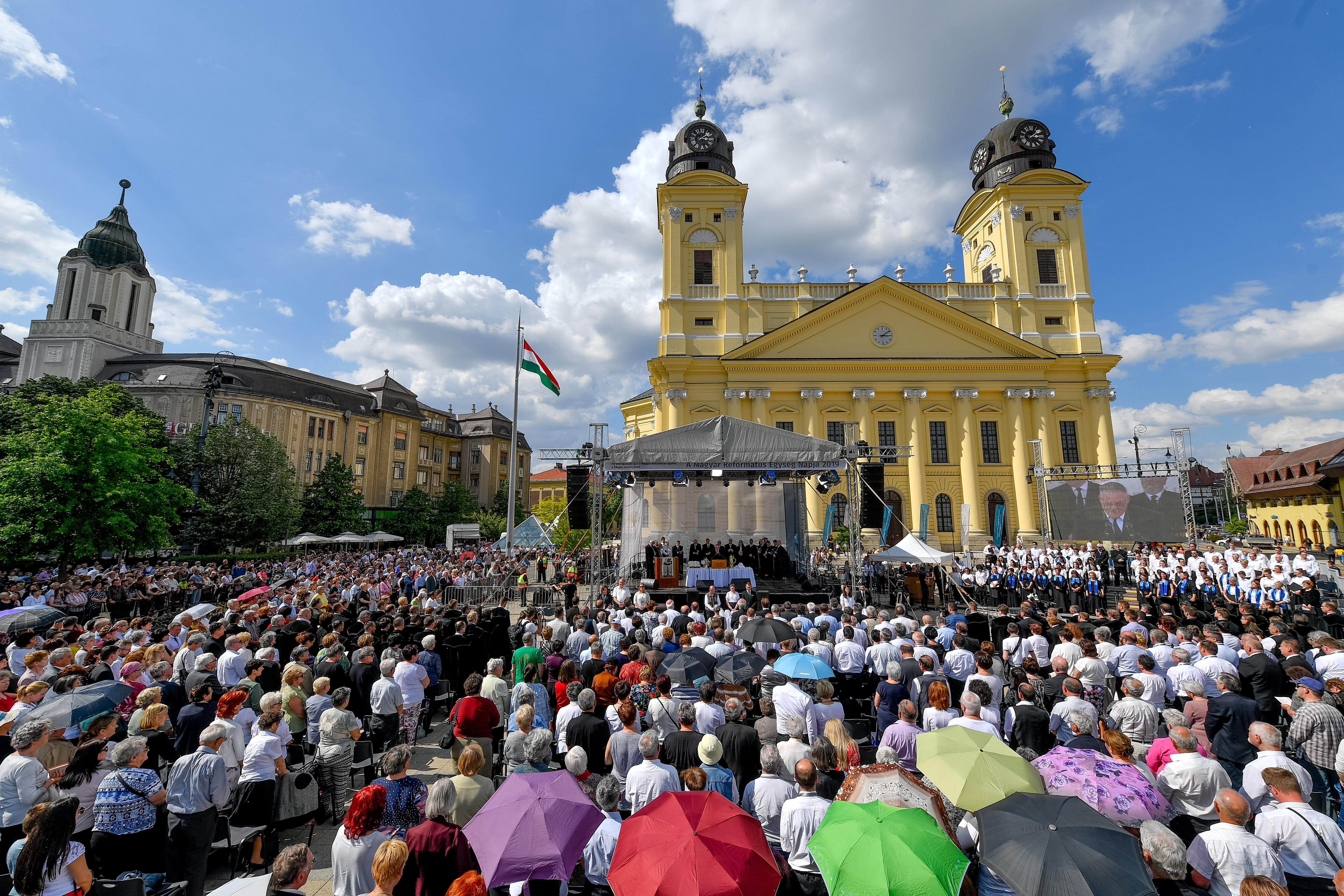 100 fős korlátozást vezetnek a református istentiszteleteken
