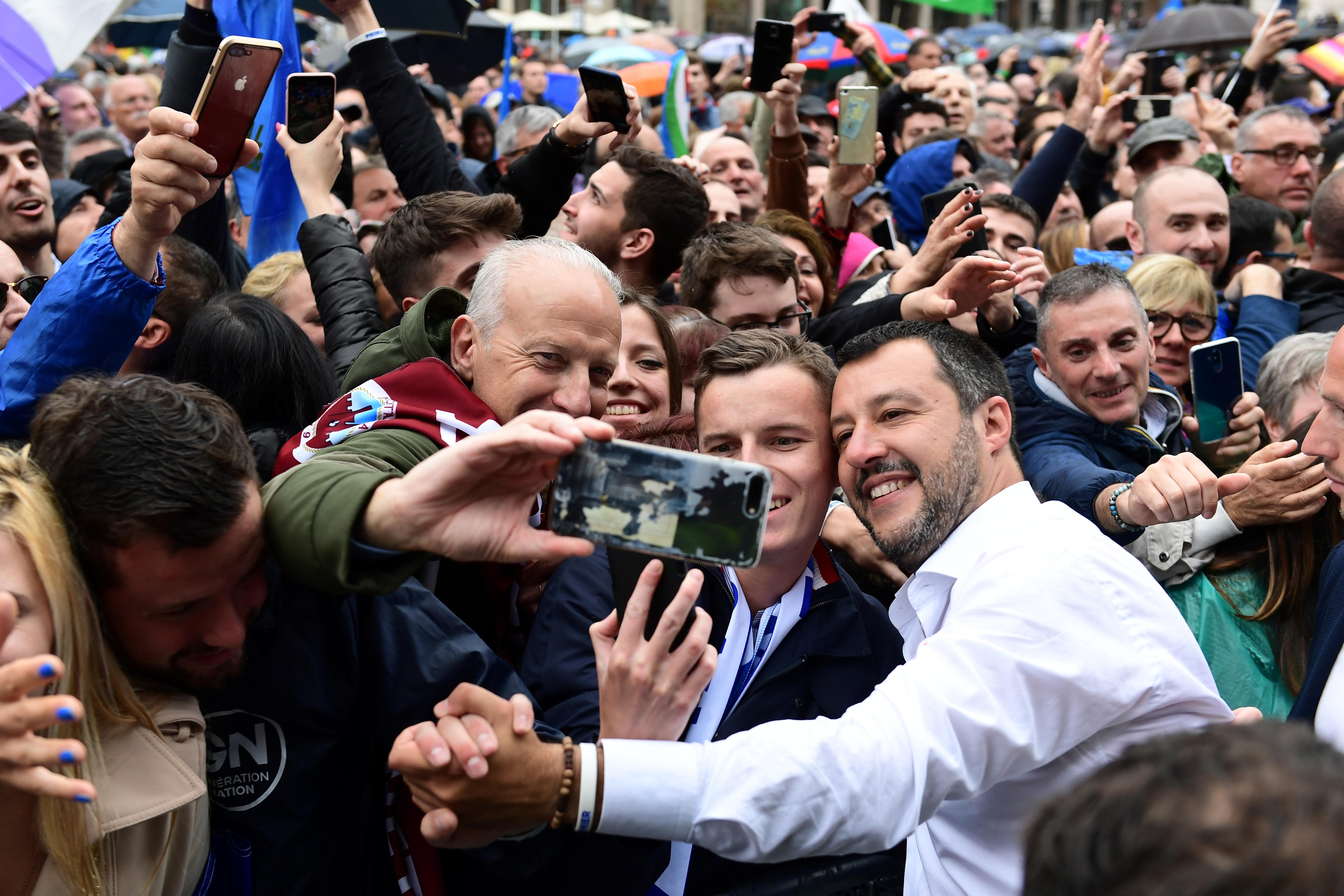 Salvini pártja nagyot nyerhet Olaszországban