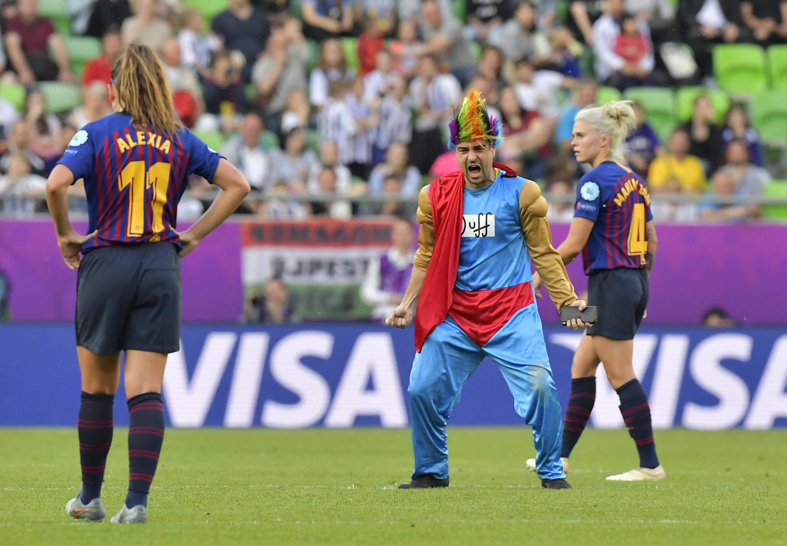 A régi idők focihangulatát hozta vissza a budapesti női BL-döntő