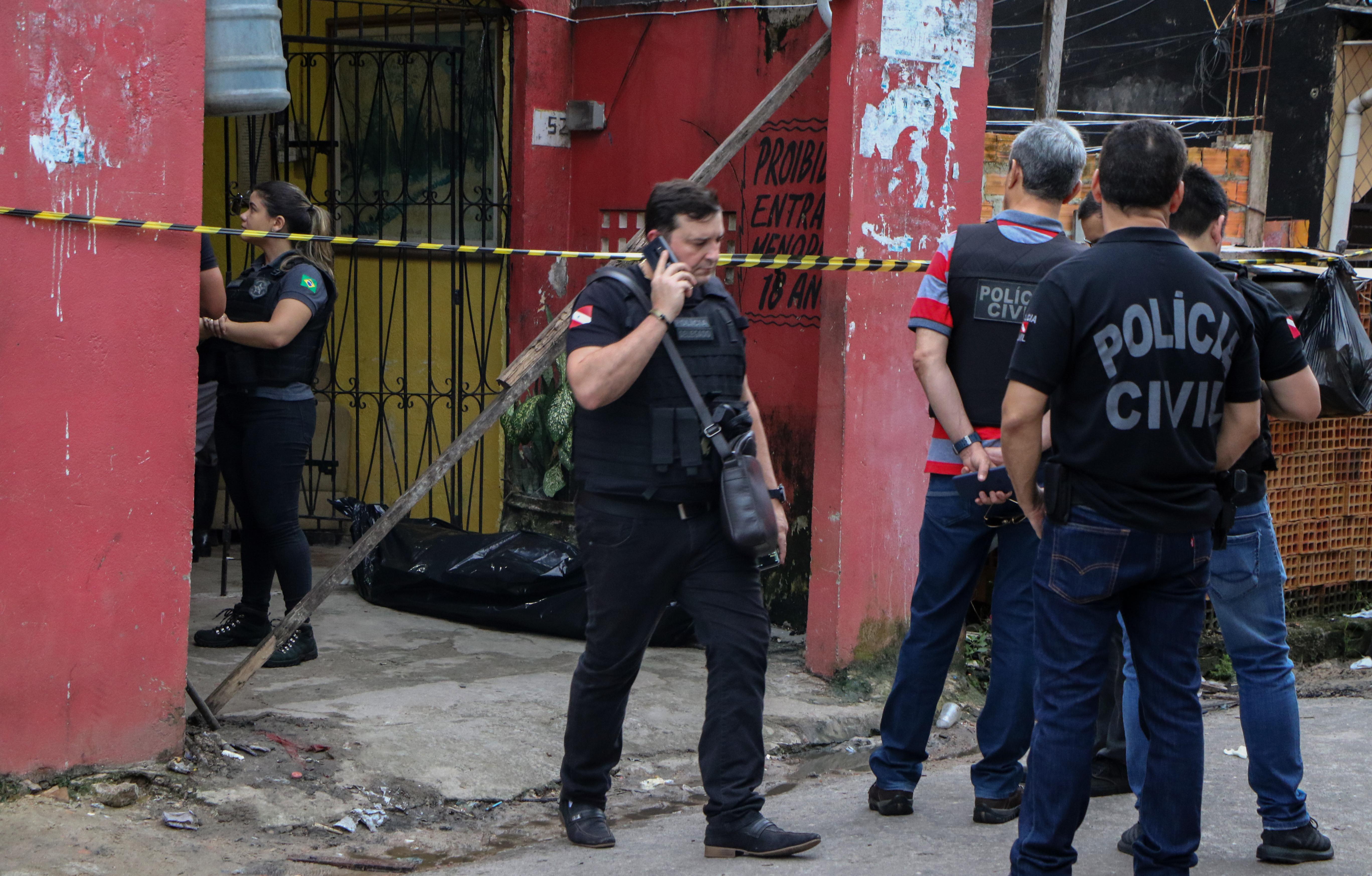 Mészárlás egy brazil bárban