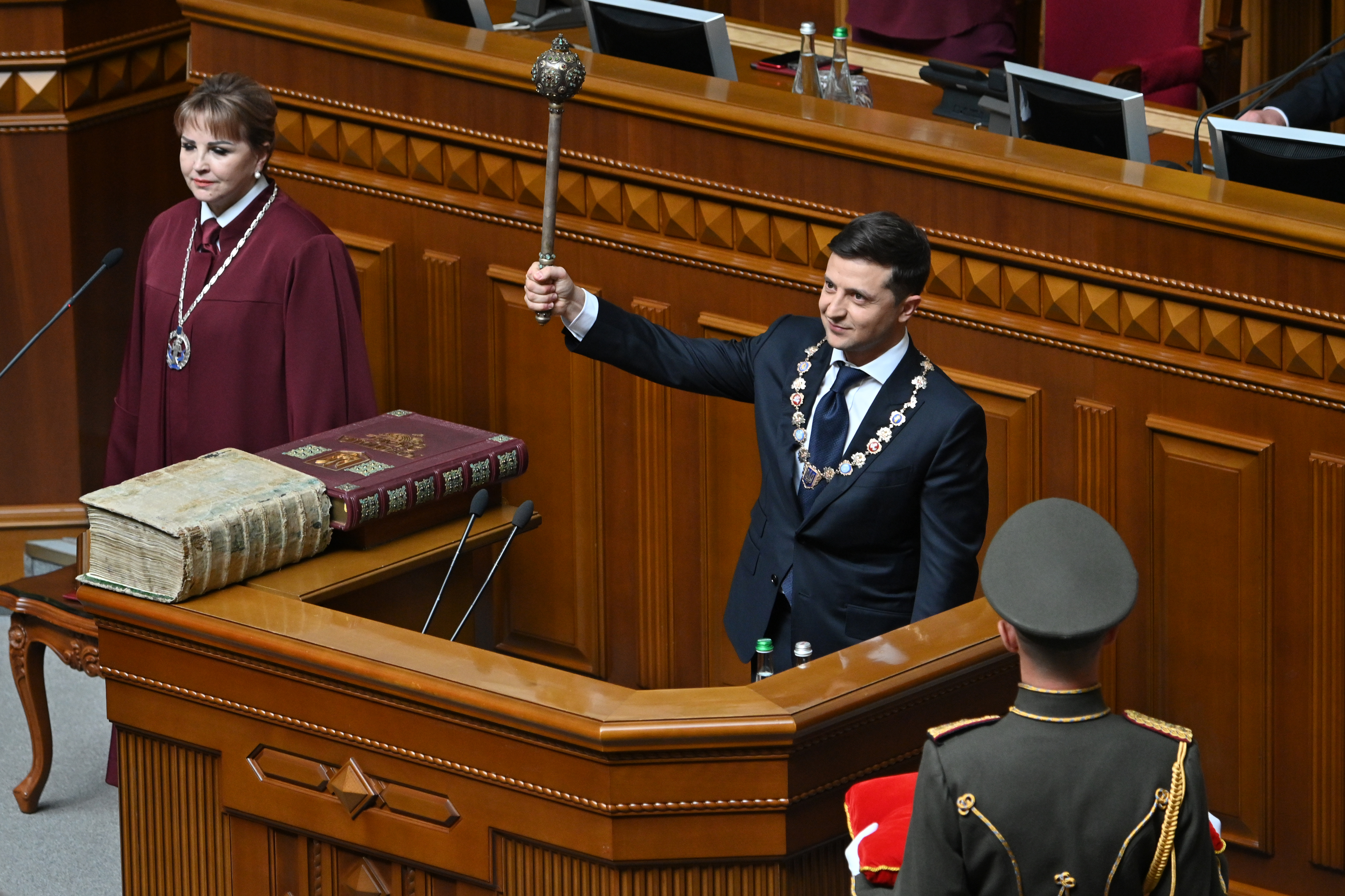 Alkotmánybírósághoz fordultak az ukrán képviselők a parlament feloszlatása miatt