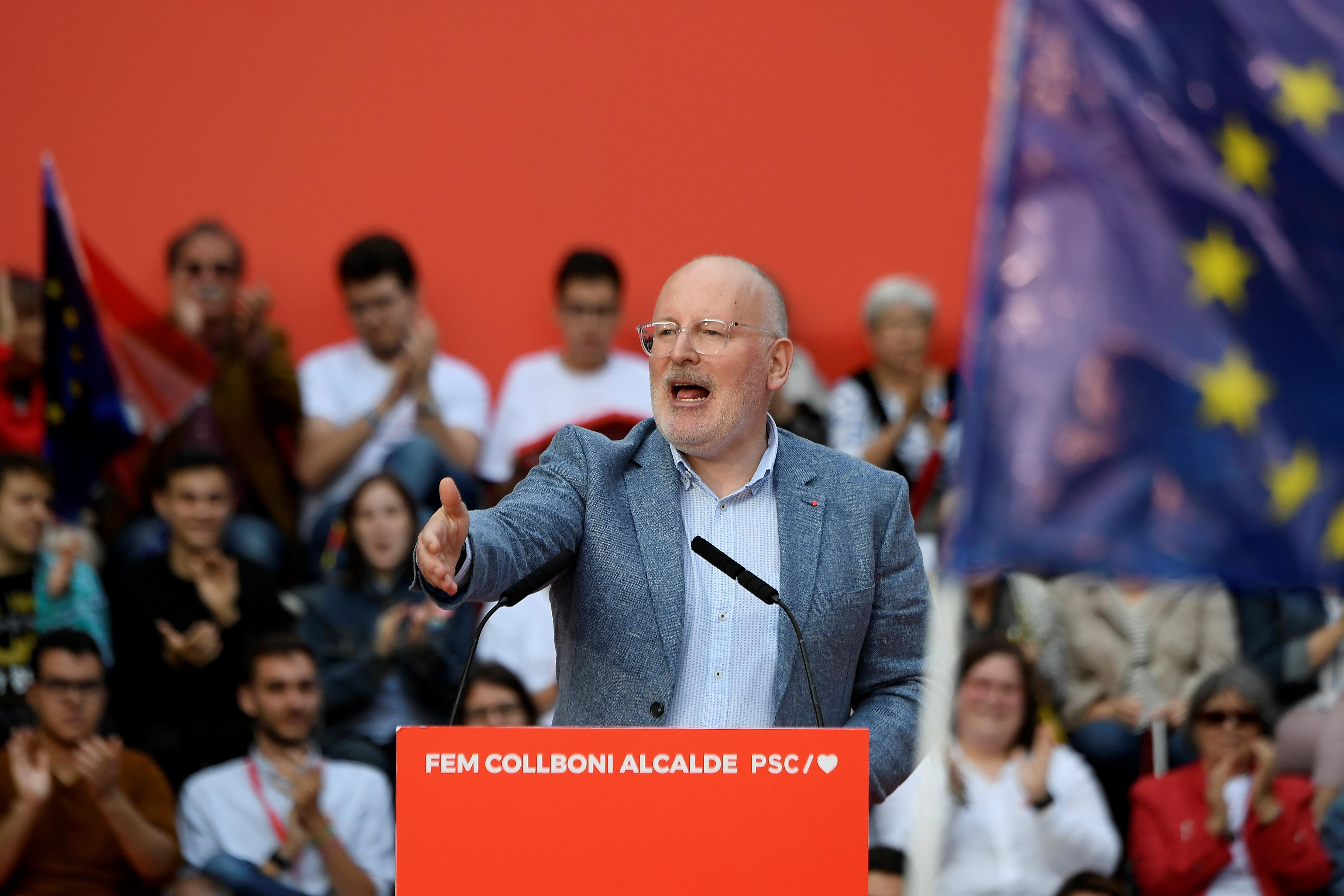 Frans Timmermans pártja nyerte az EP-választást Hollandiában