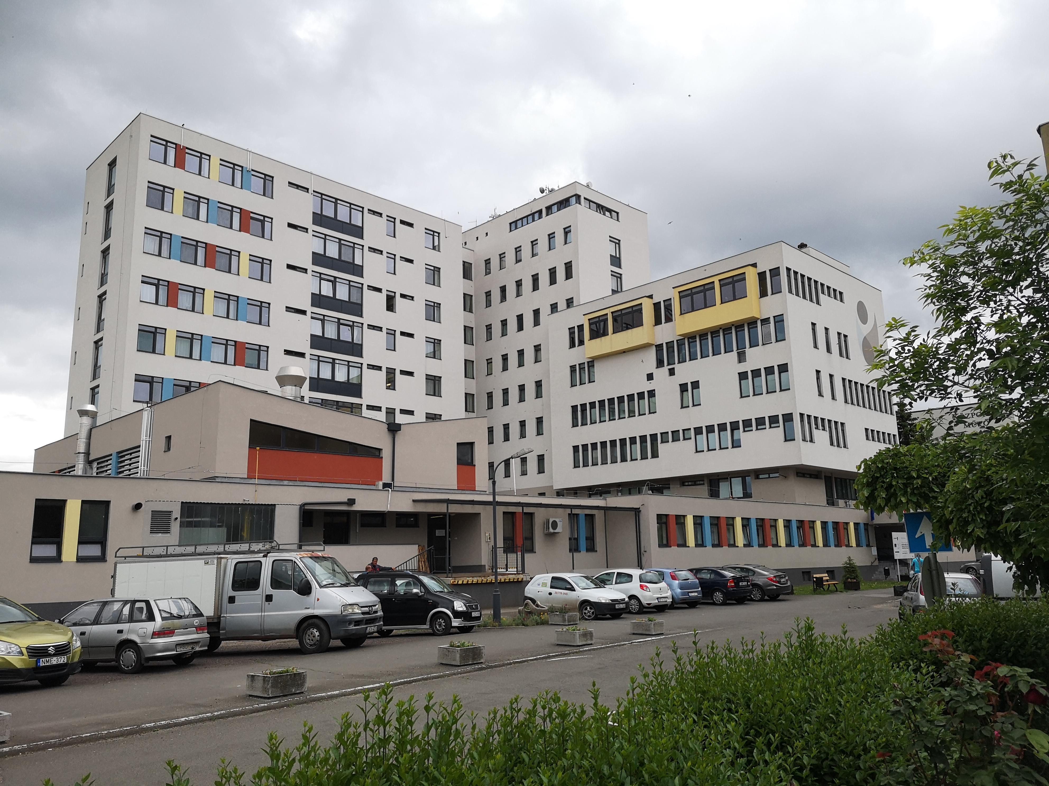 Kigyulladt egy kórterem a hatvani kórházban