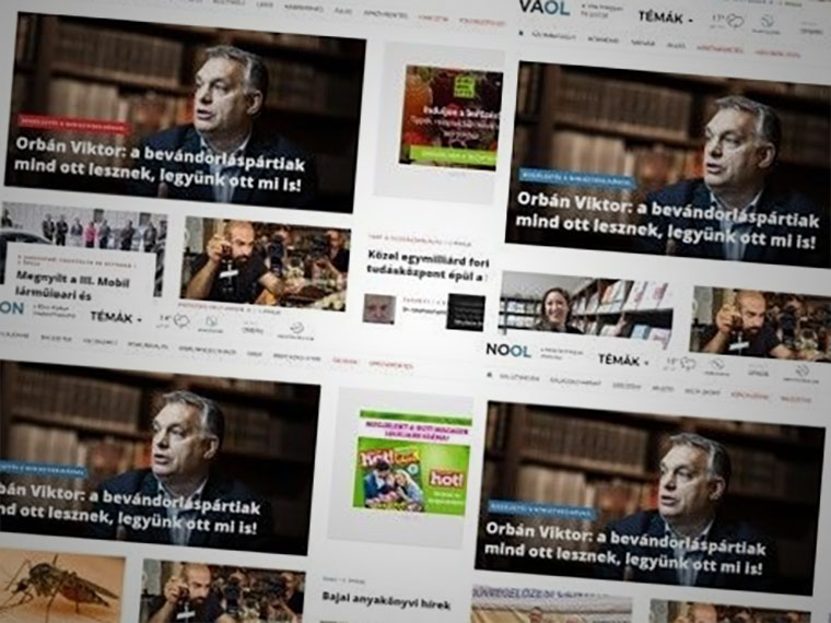 Tovább tombol a központi sajtószabadság: egy a tábor, egy a címlap
