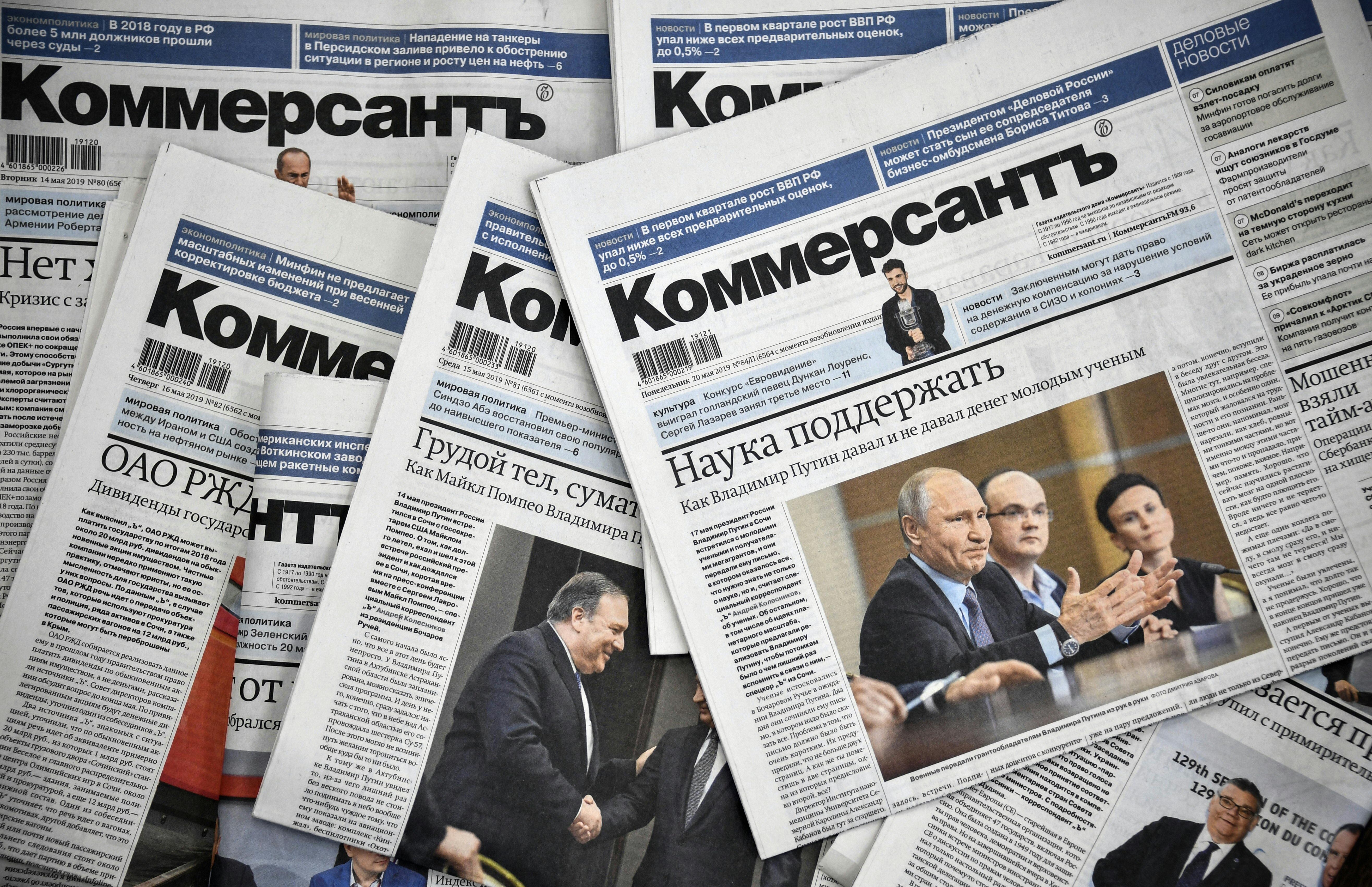 Botrány a Kommerszantnál: a teljes politika rovat távozik, véget érhet a putyini félcenzúra modellje, és jöhet a keménykedés