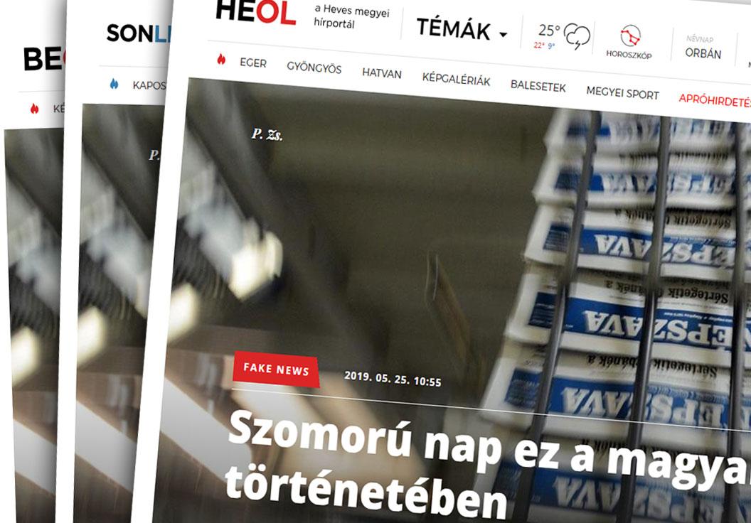 Nézed, és nem hiszed el: központból megküldött cikkben kérik ki maguknak a fideszes lapok, hogy központosítják őket