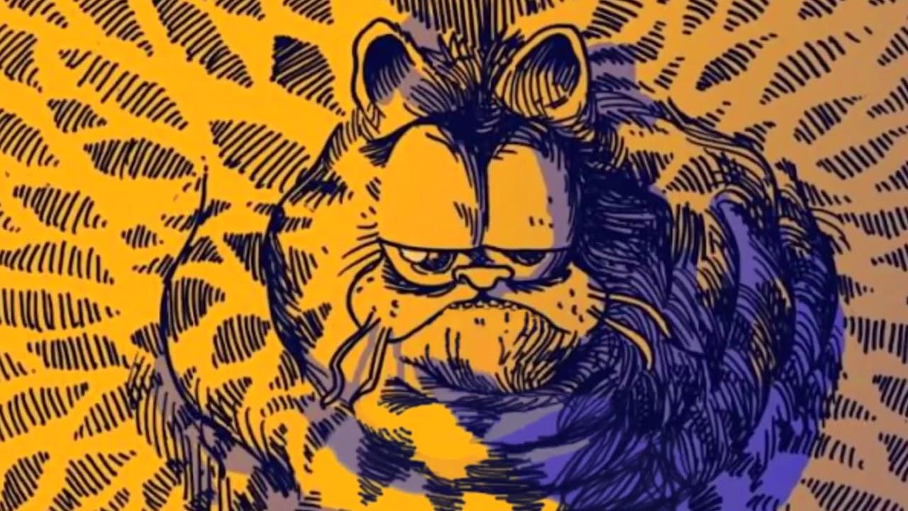 Szörnyeteggé váló Garfield-horrorrajzok ömlenek az internetről