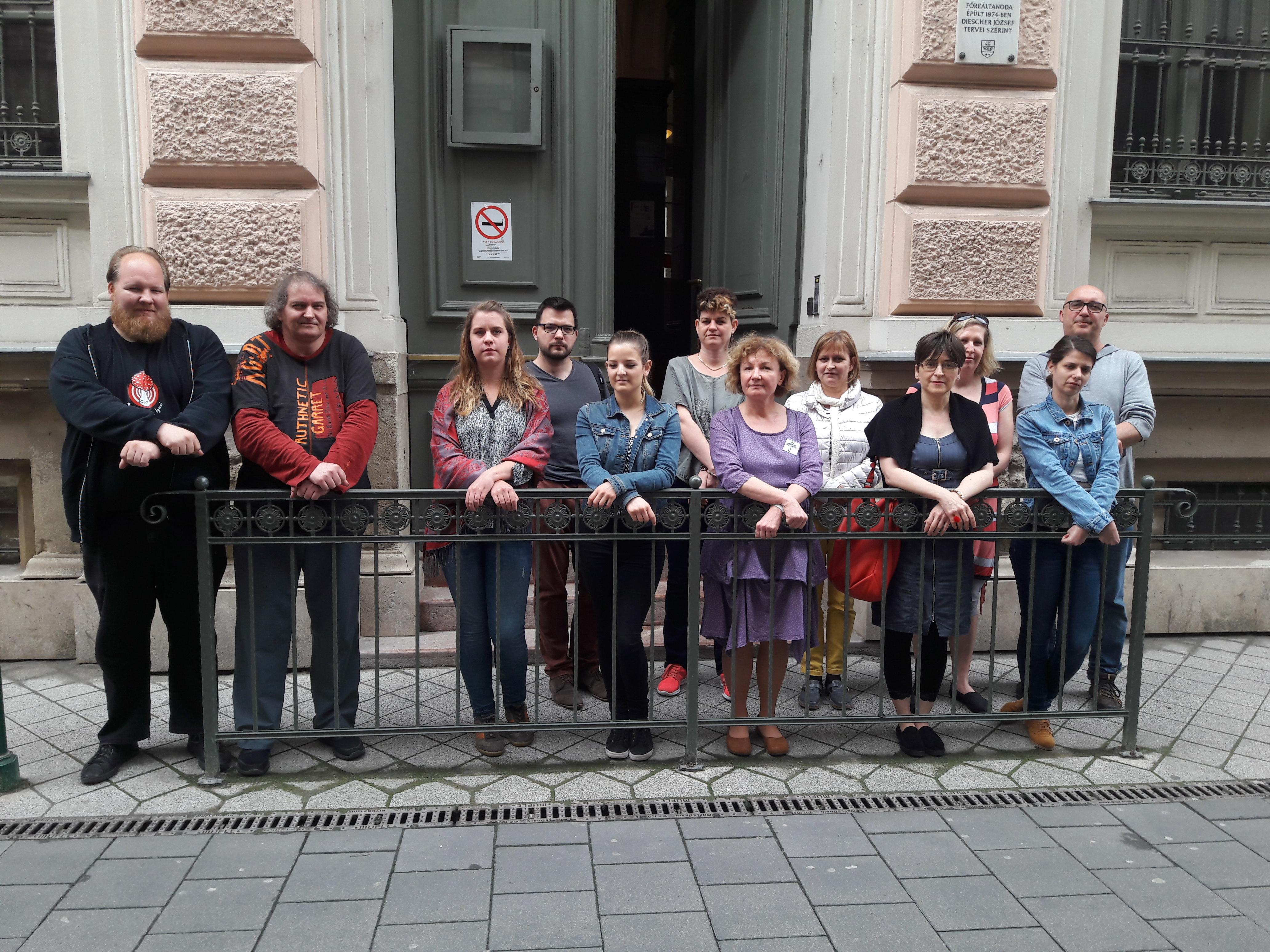 Hiába próbáltak sztrájkolni a budapesti Vörösmarty Gimnázium tanárai