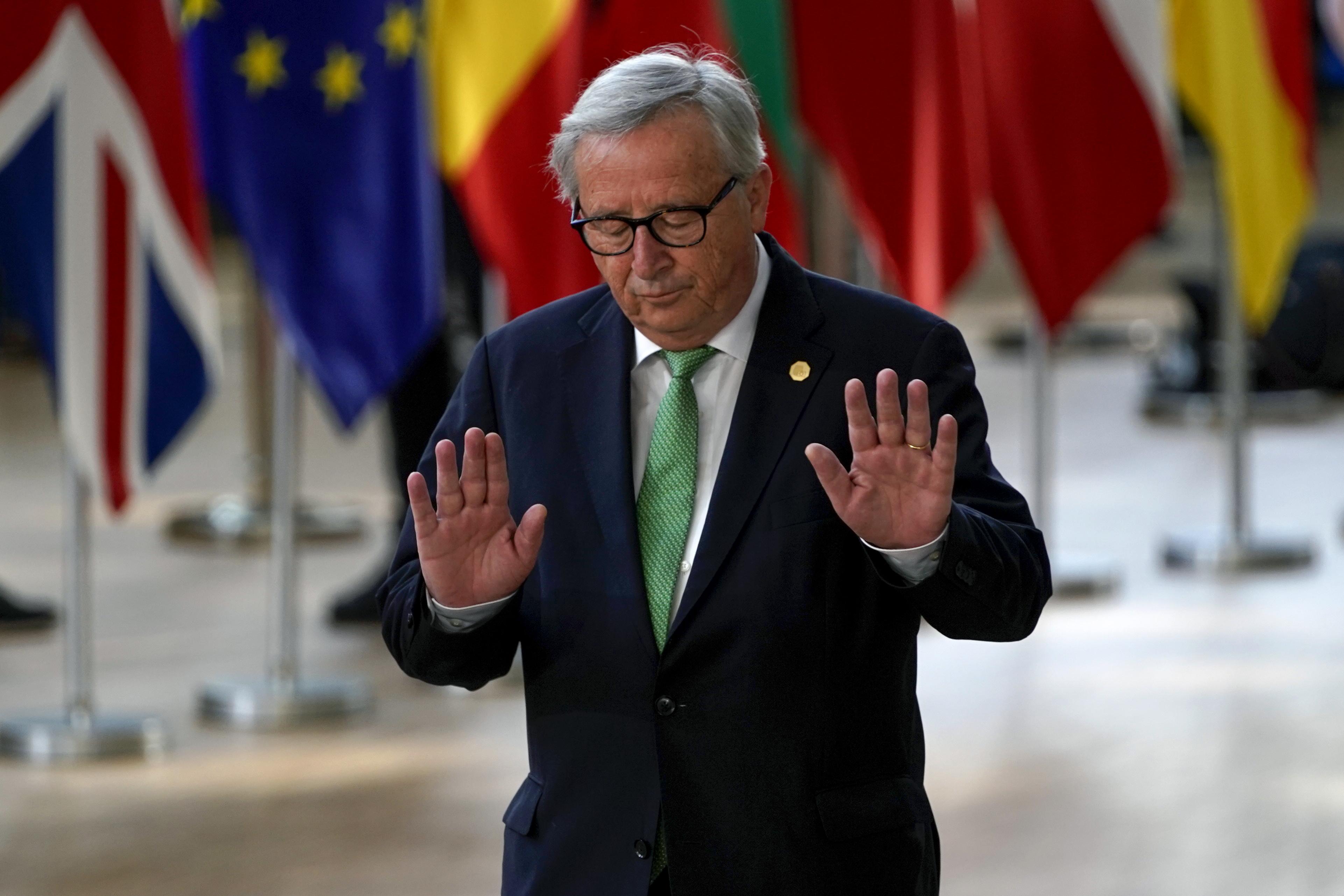 Juncker azt mondta Boris Johnsonnak, hogy nem tárgyalható újra a brit kiválási szerződés