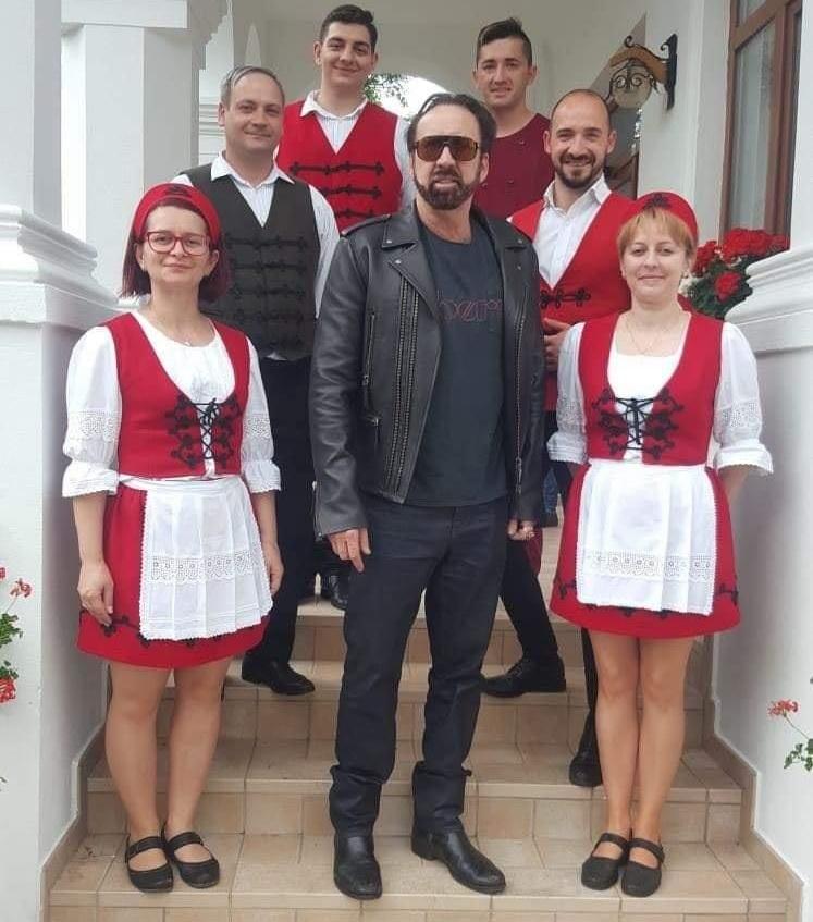 Nicolas Cage Budapesten forgatja az új filmjét, amiben Nicolas Cage-et alakítja