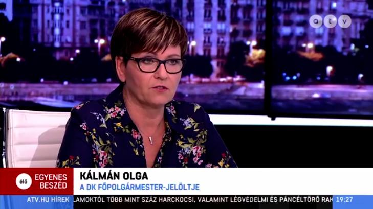 Kálmán Olga visszatért az ATV képernyőjére